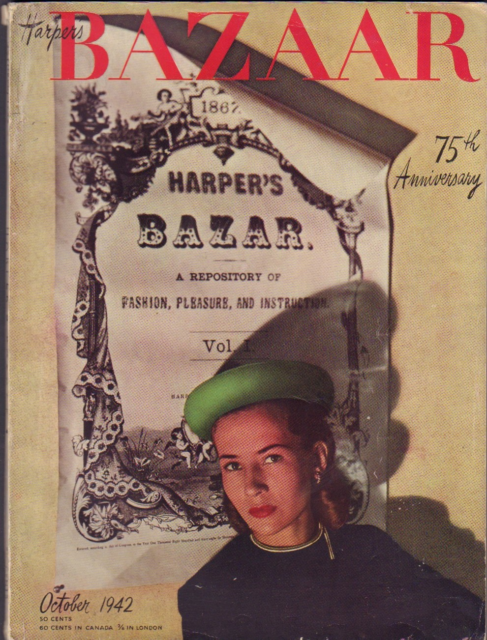 Image for Harper's Bazaar October 1942