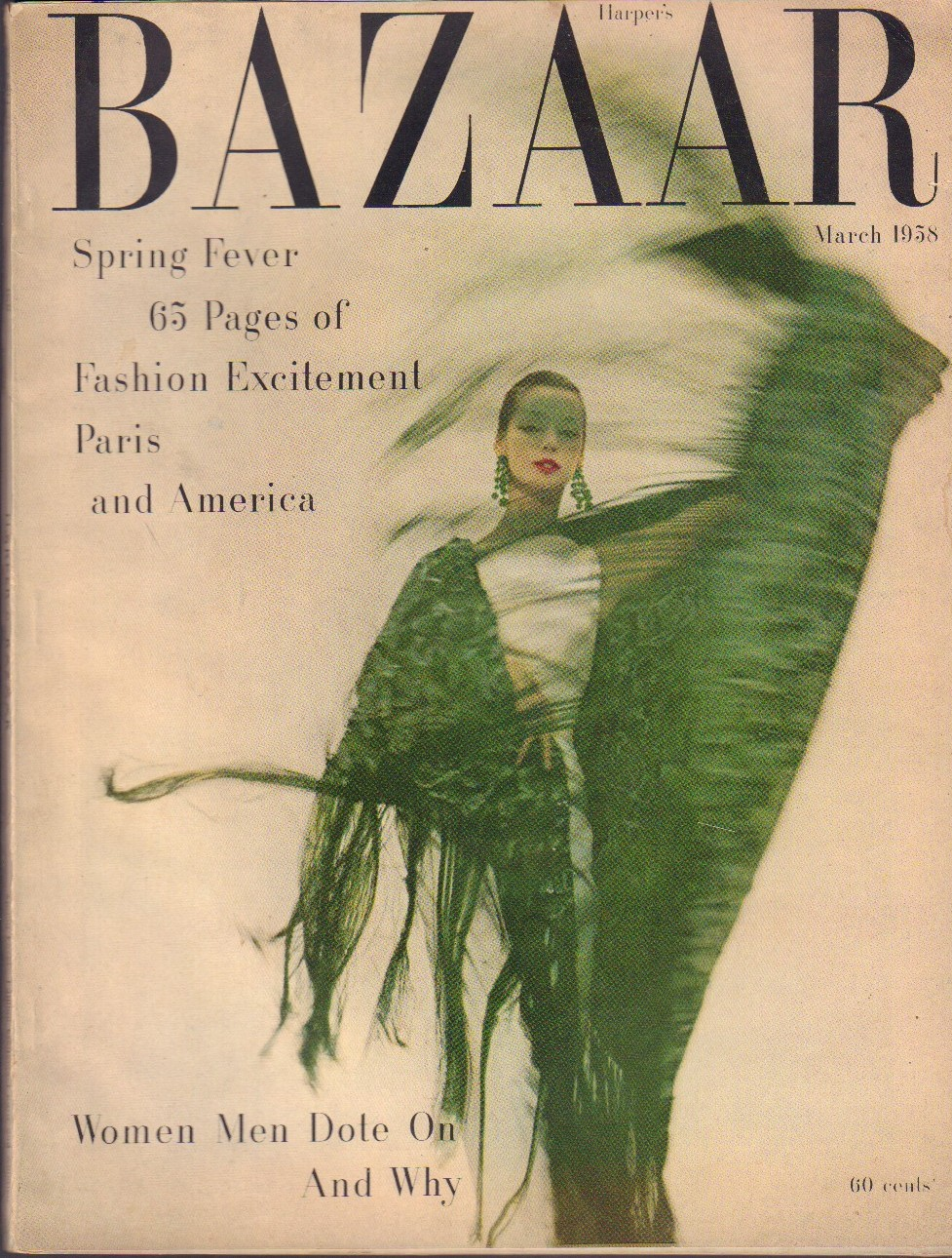 Image for Harper's Bazaar March 1958