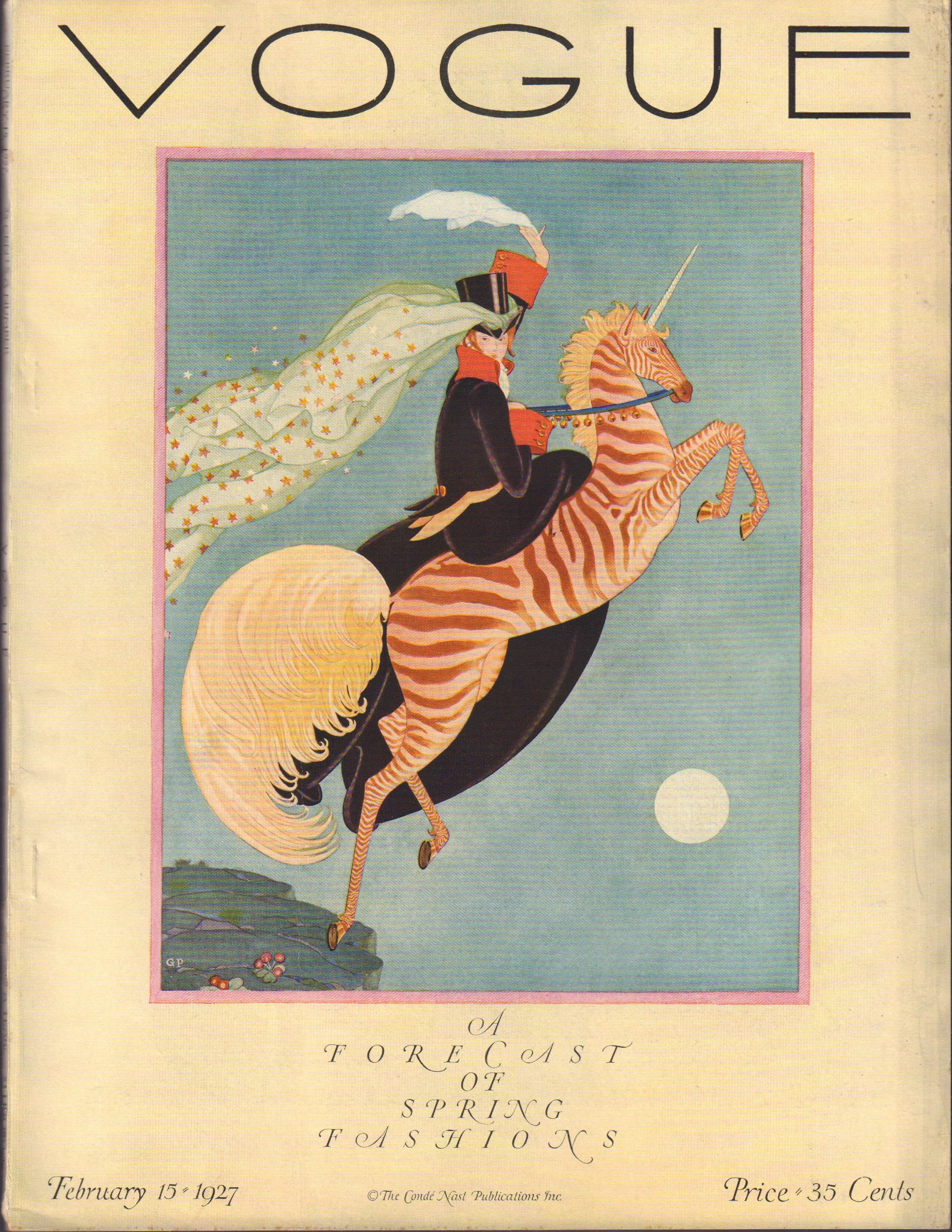"""Image for """"Vogue February 15, 1927"""""""