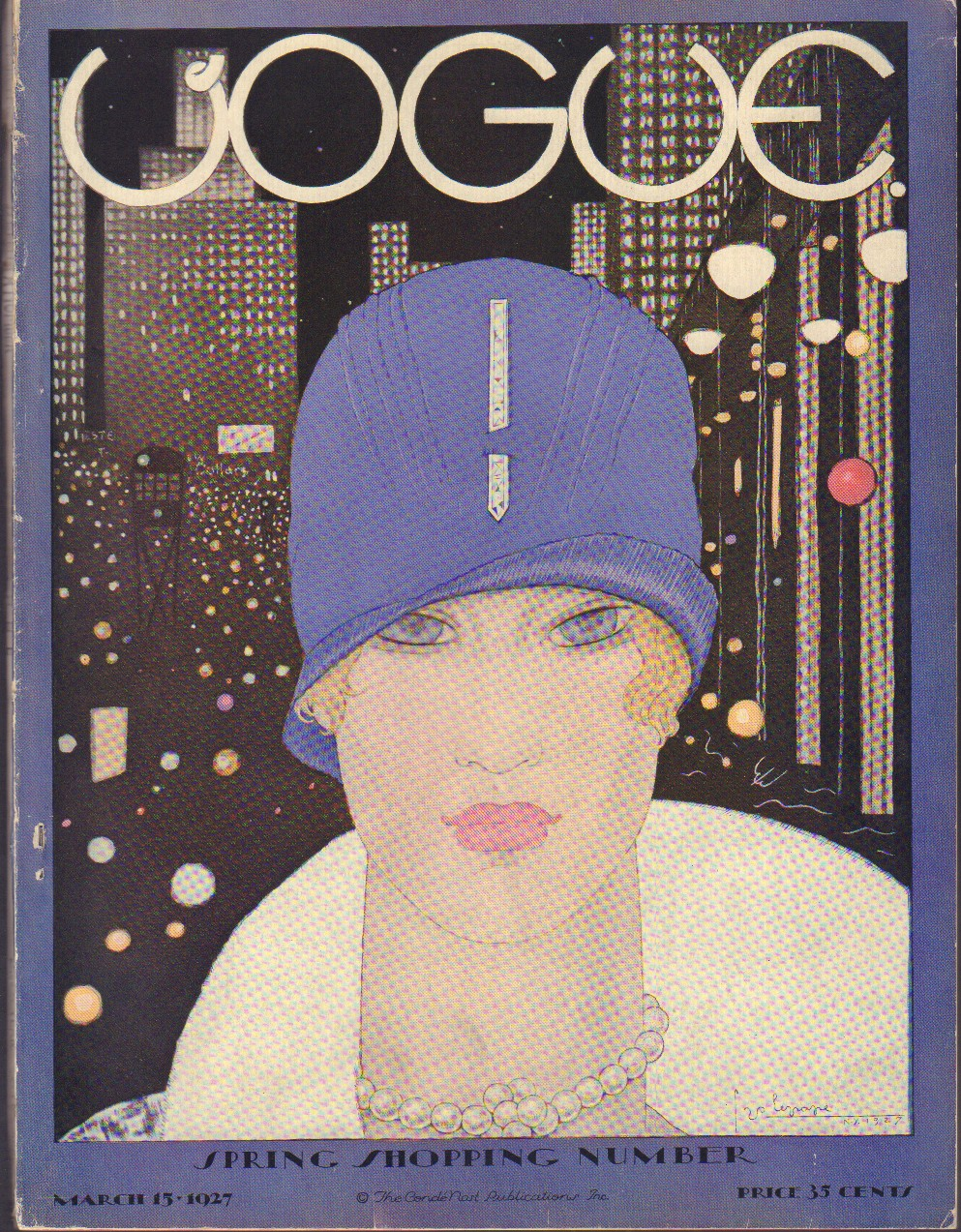 "Image for ""Vogue March 15, 1927"""