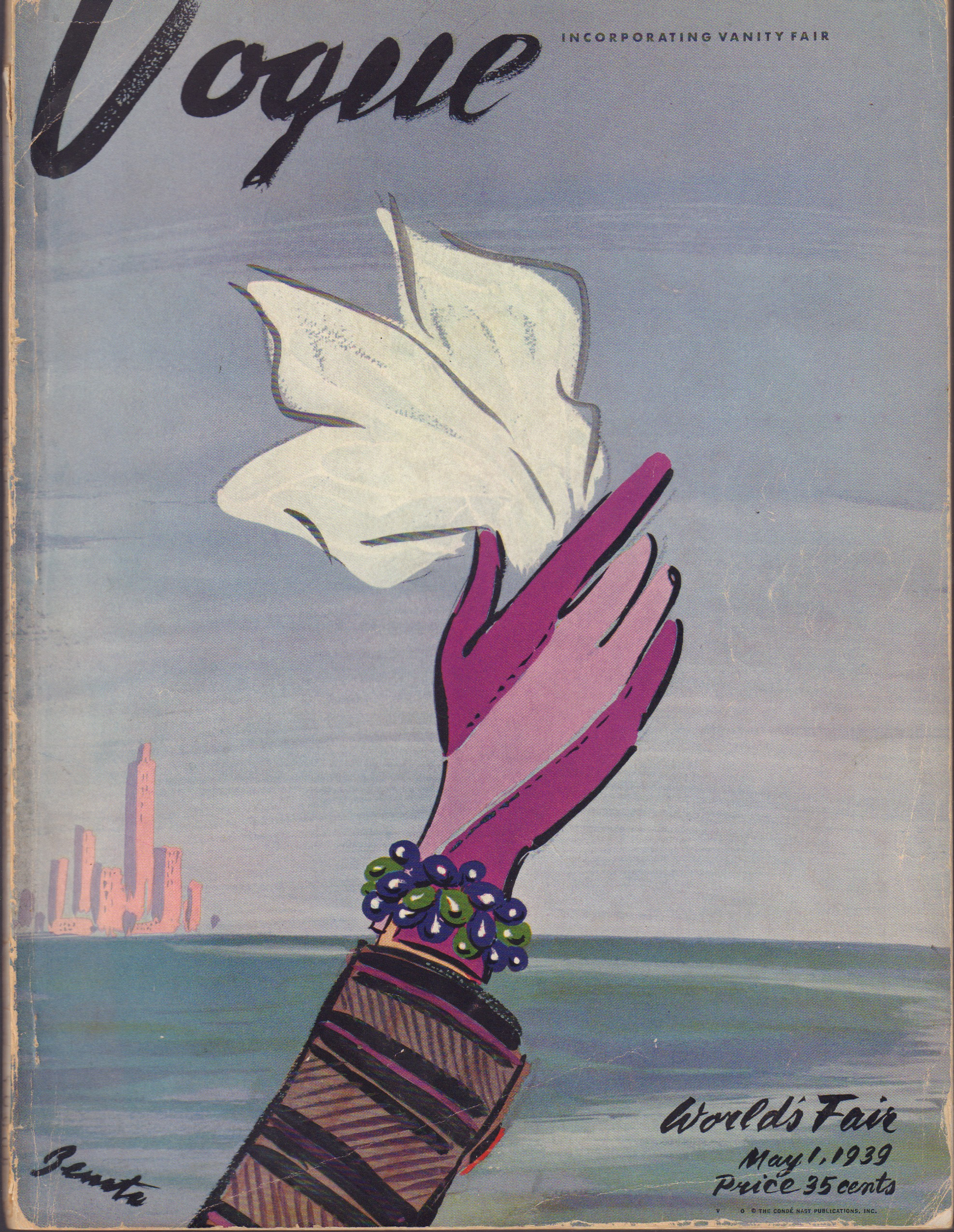 """Image for """"Vogue Magazine. May 1, 1939"""""""