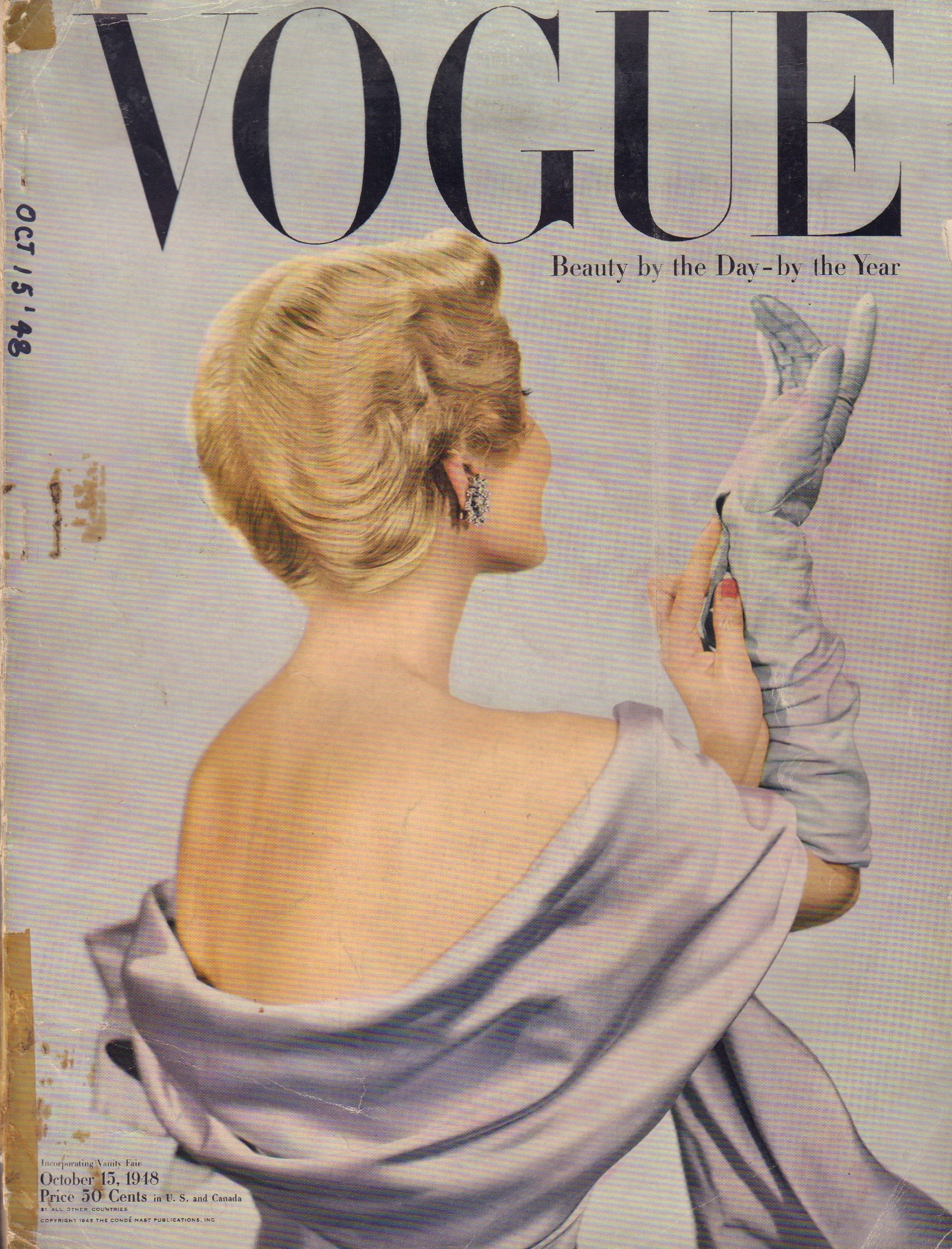 "Image for ""Vogue Magazine. October 15, 1948"""