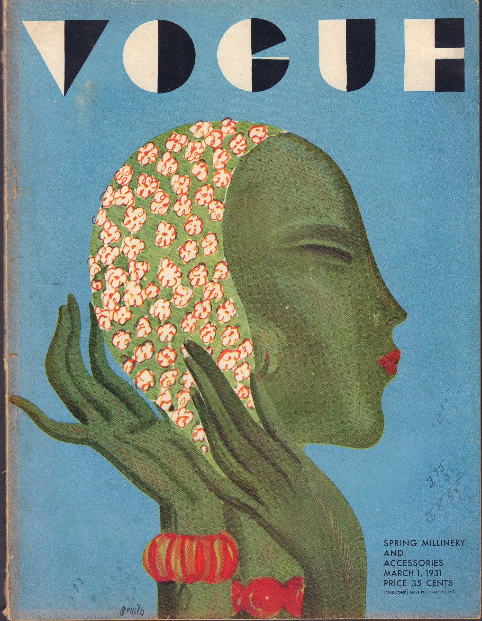 Image for Vogue March 1, 1931