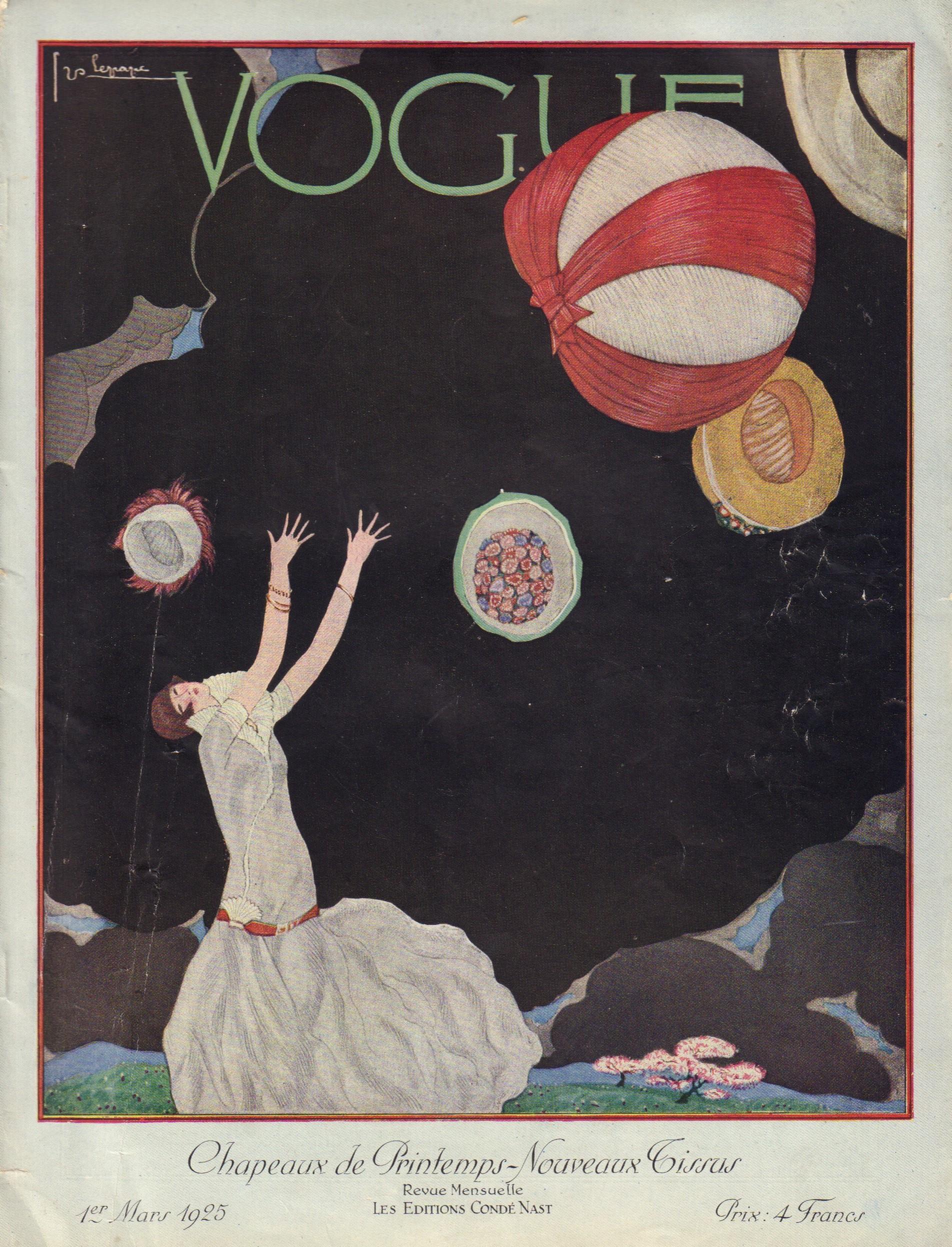 Image for Vogue 1er Mars 1925