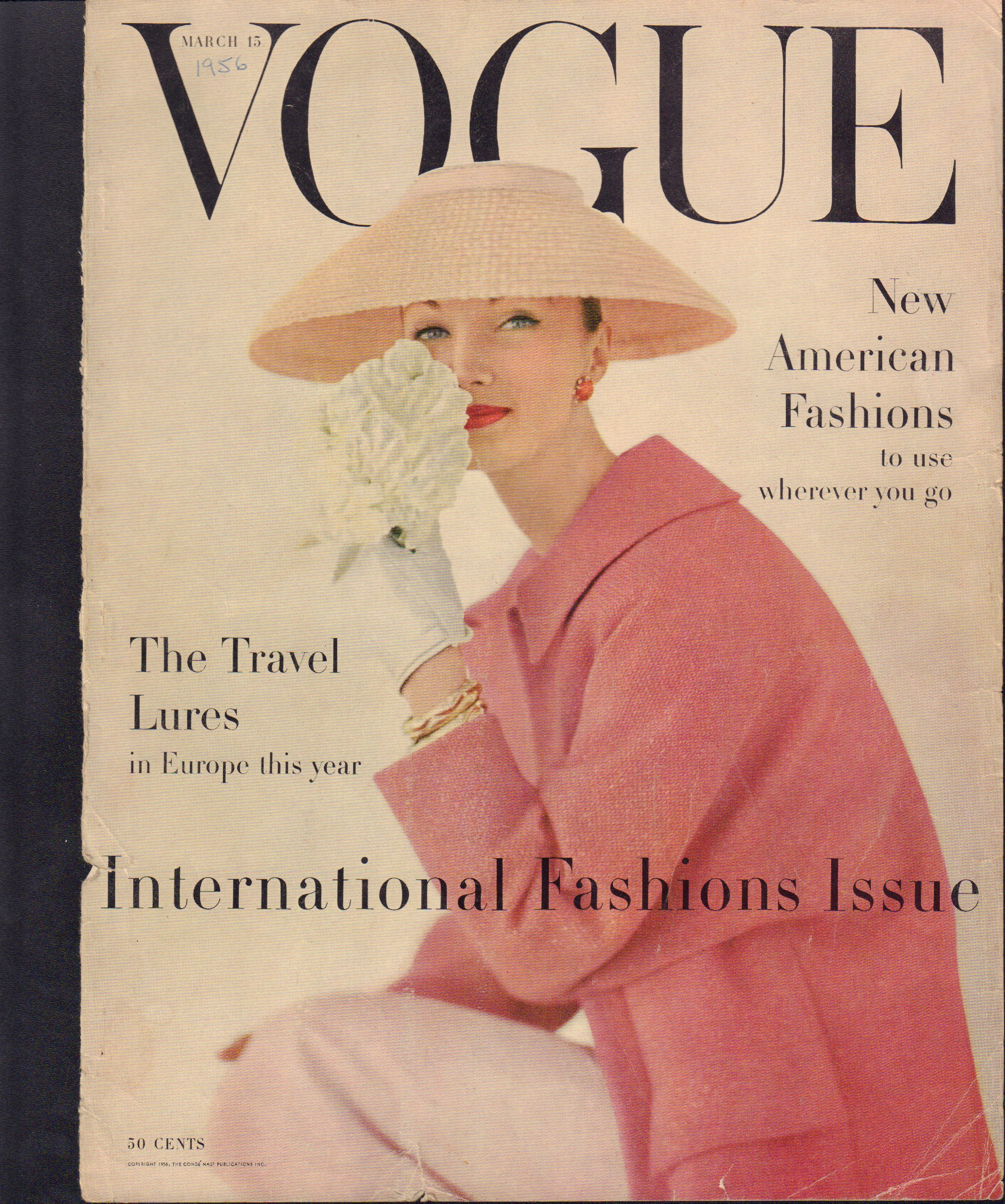 Image for Vogue March 15, 1956 Cover