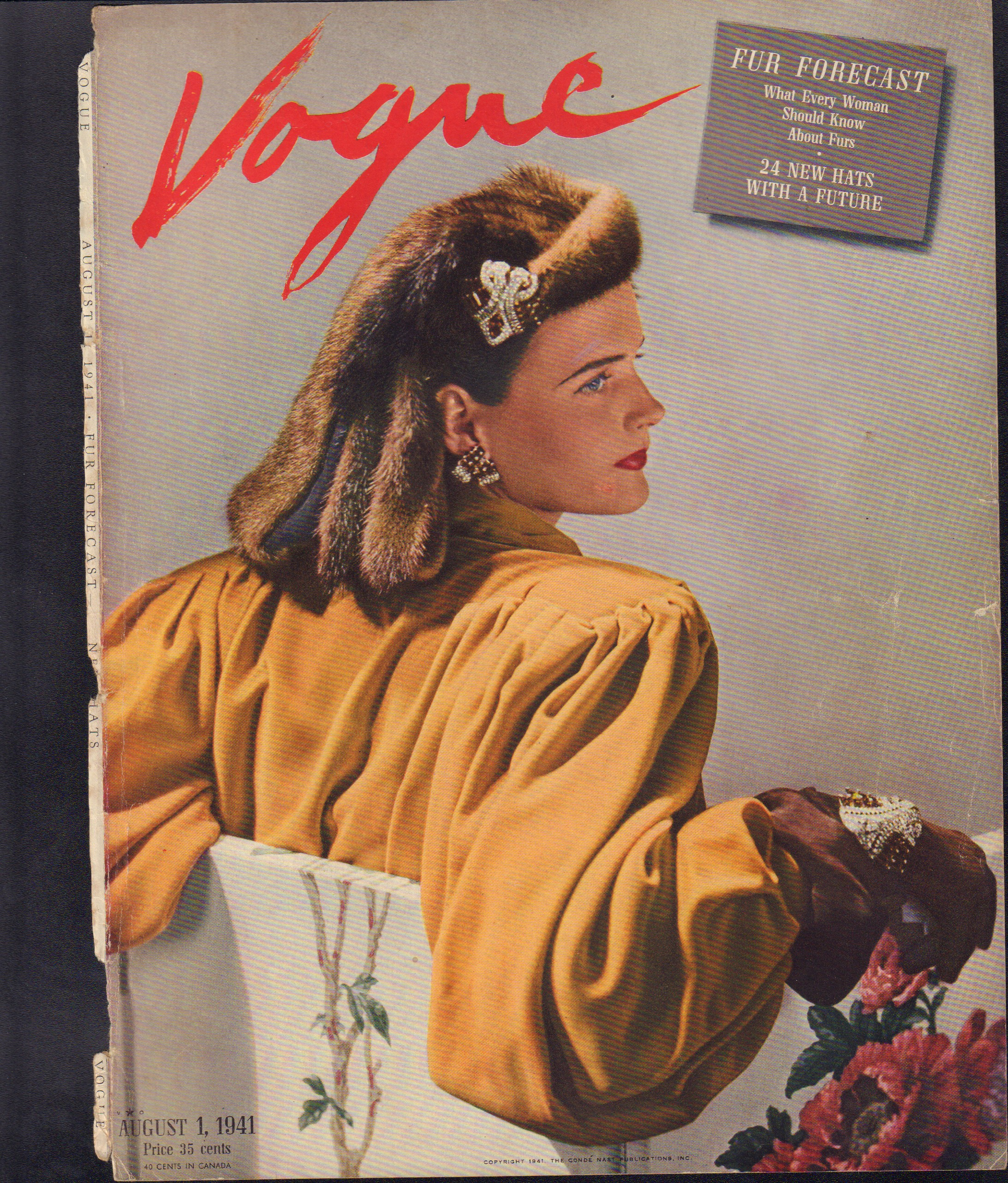 "Image for ""Vogue August 1, 1941 Cover"""