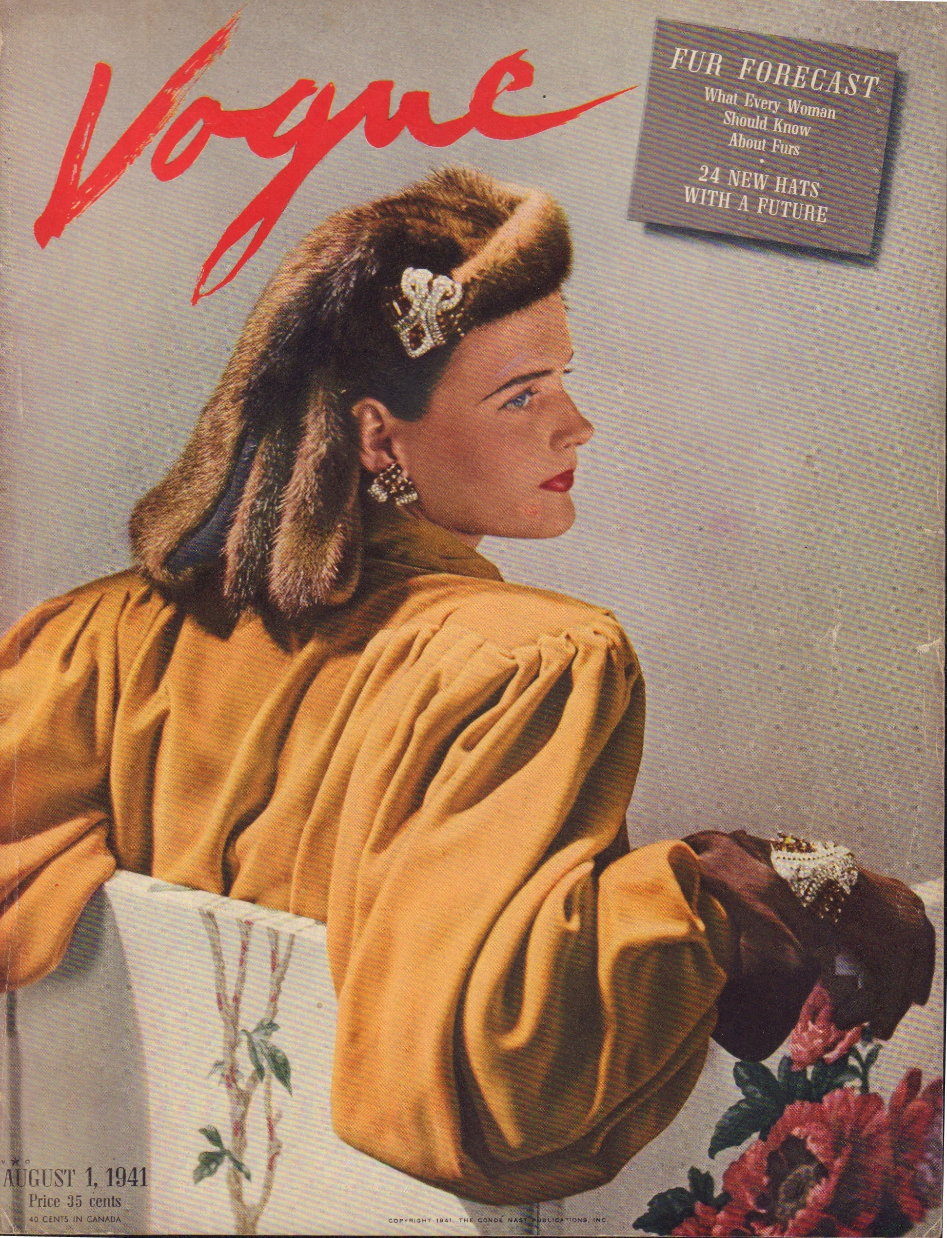 Image for Vogue August 1, 1941 Cover
