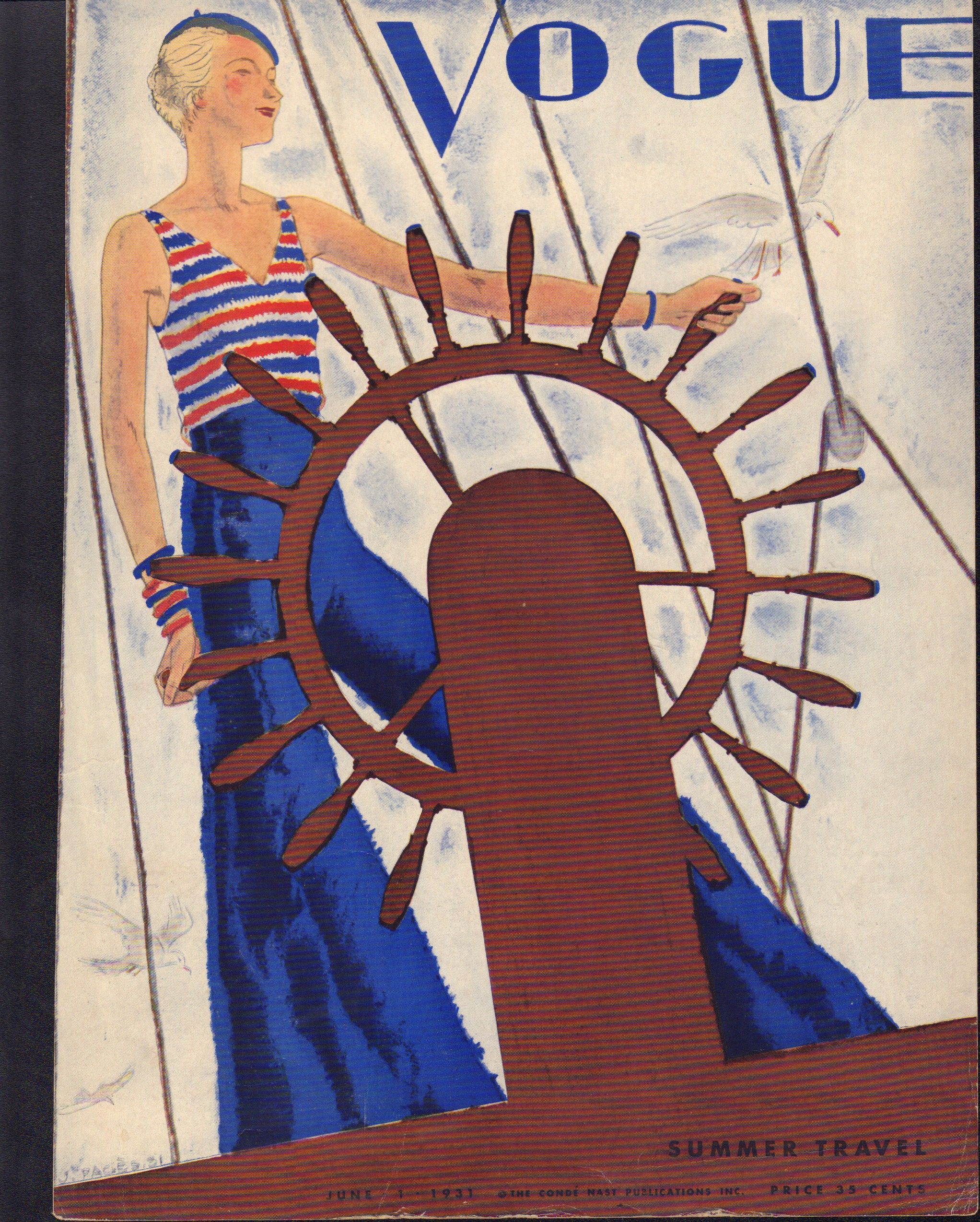 "Image for ""Vogue June 1, 1931 Cover"""