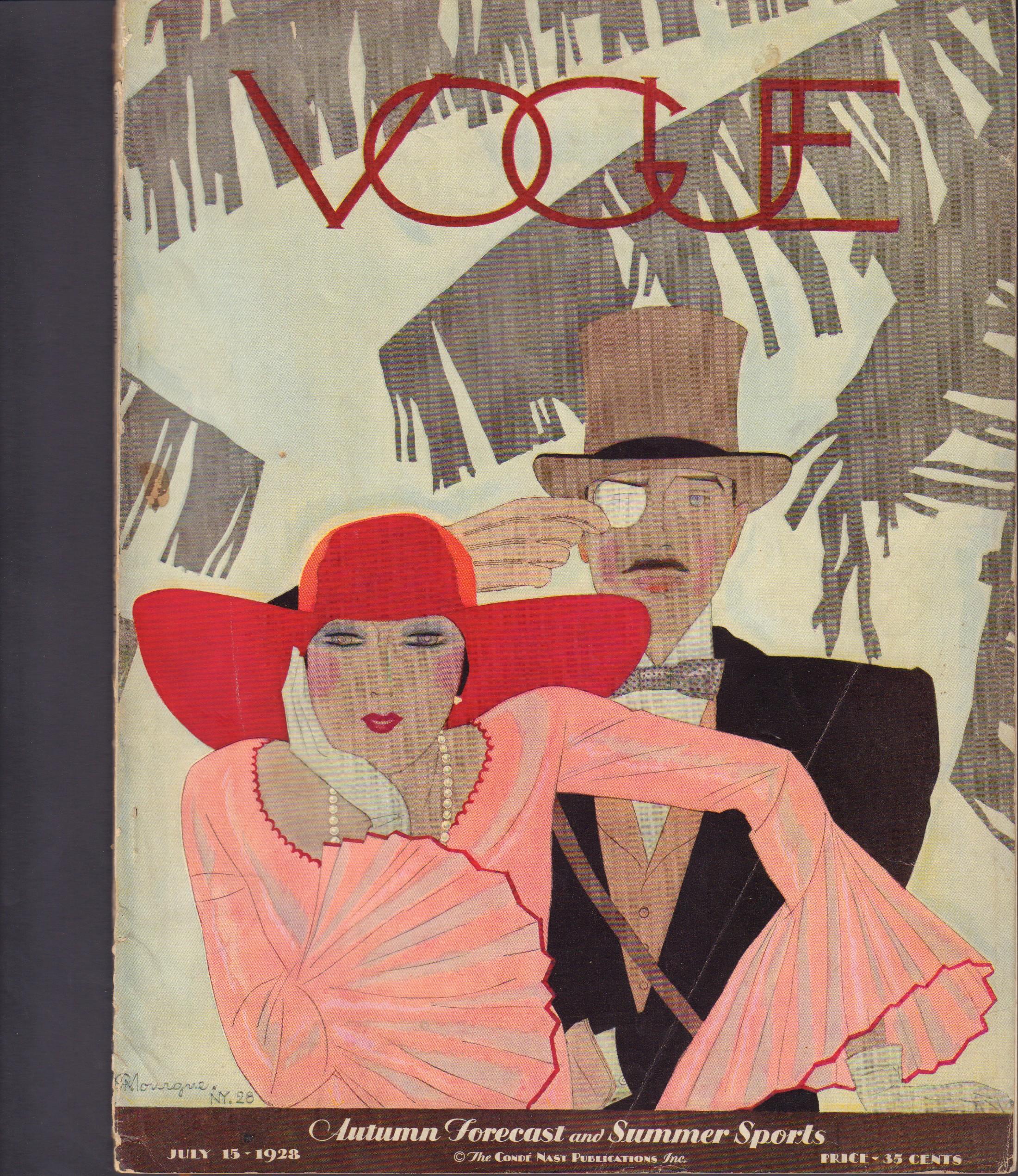 "Image for ""Vogue July 15, 1928"""