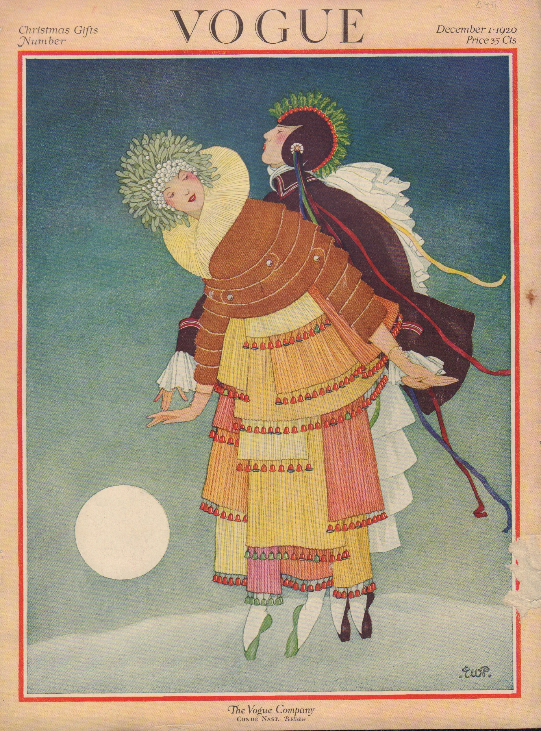Image for Vogue December 1, 1920 Cover
