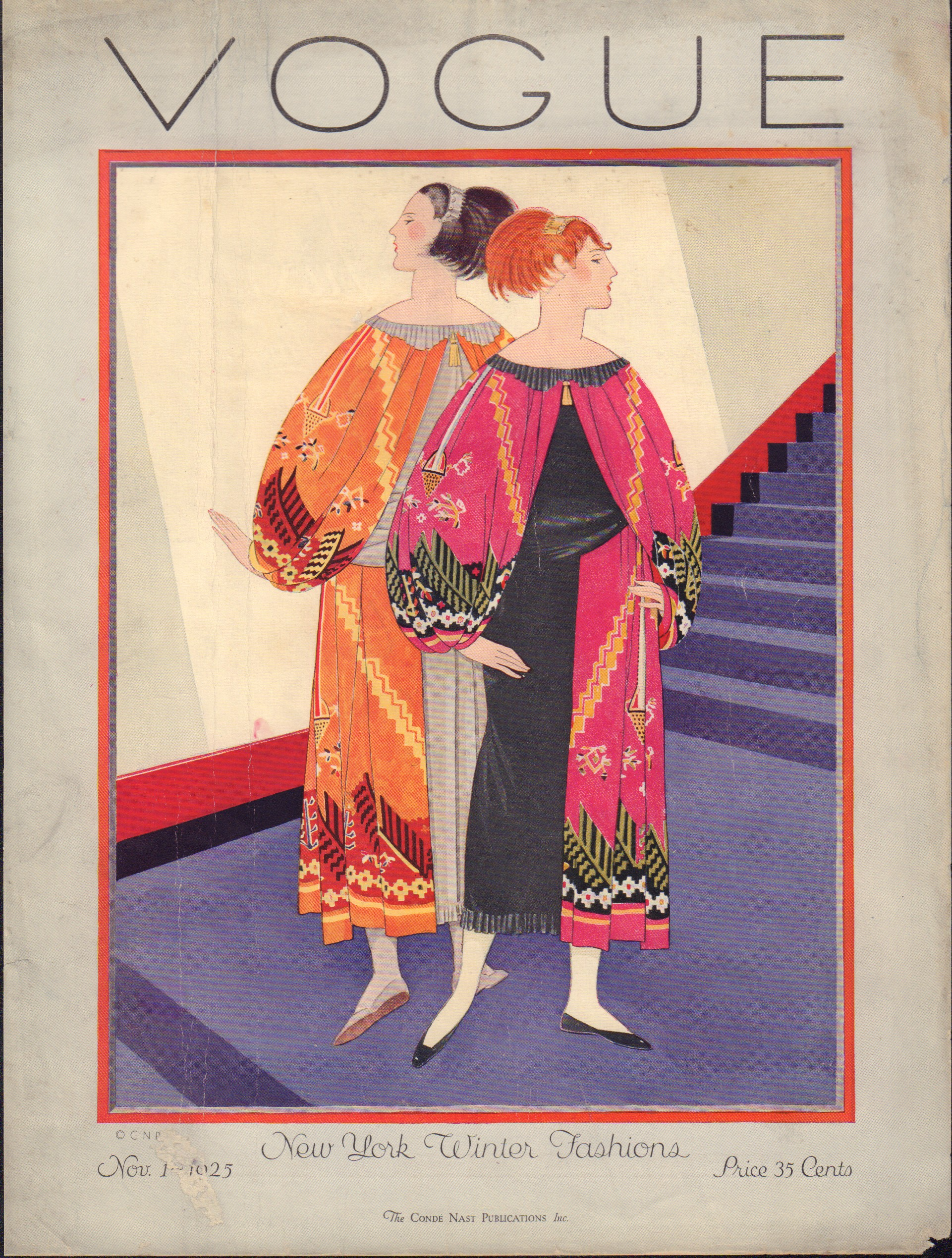 "Image for ""Vogue November 1, 1925 Cover"""