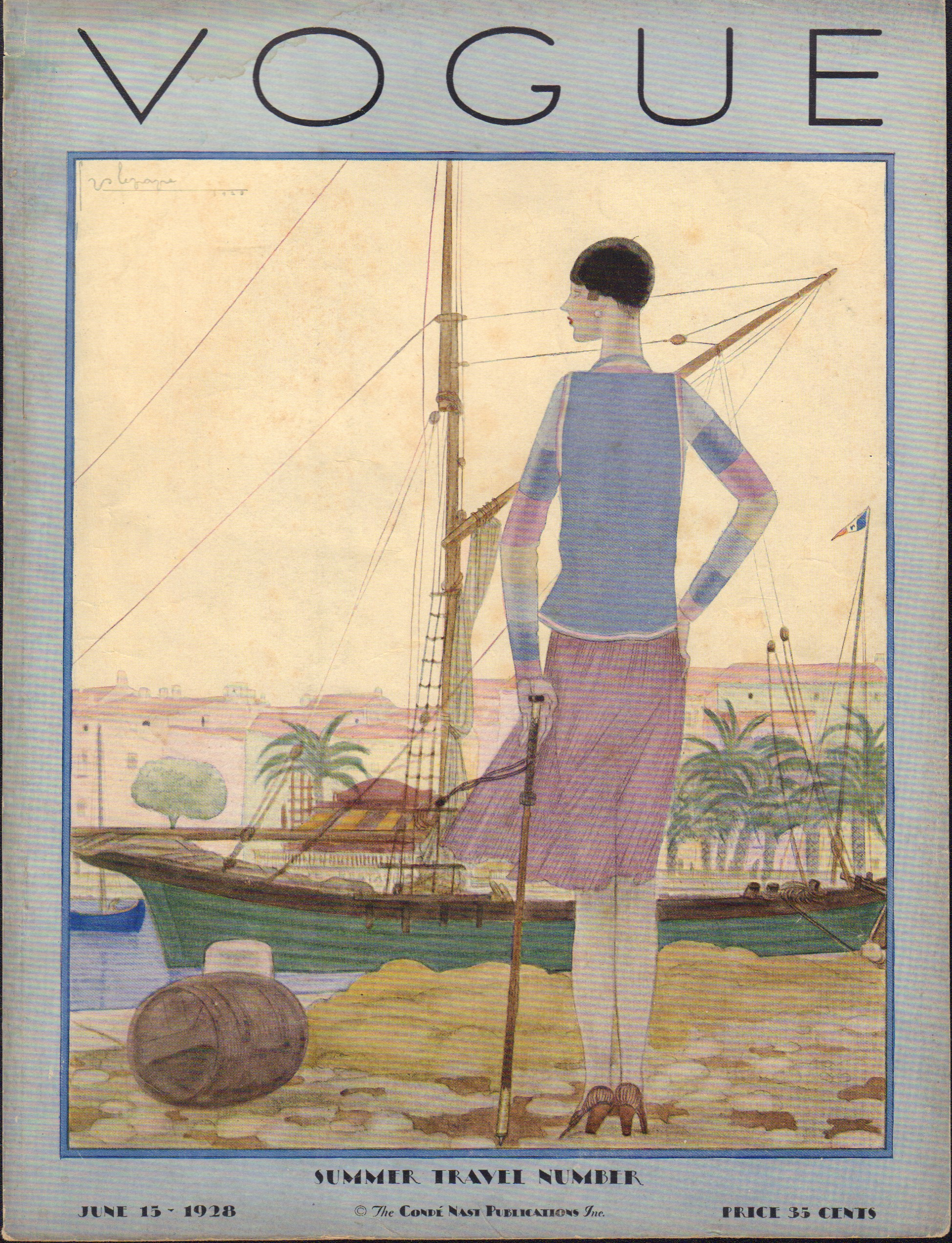 Image for Vogue June 15, 1928 Cover