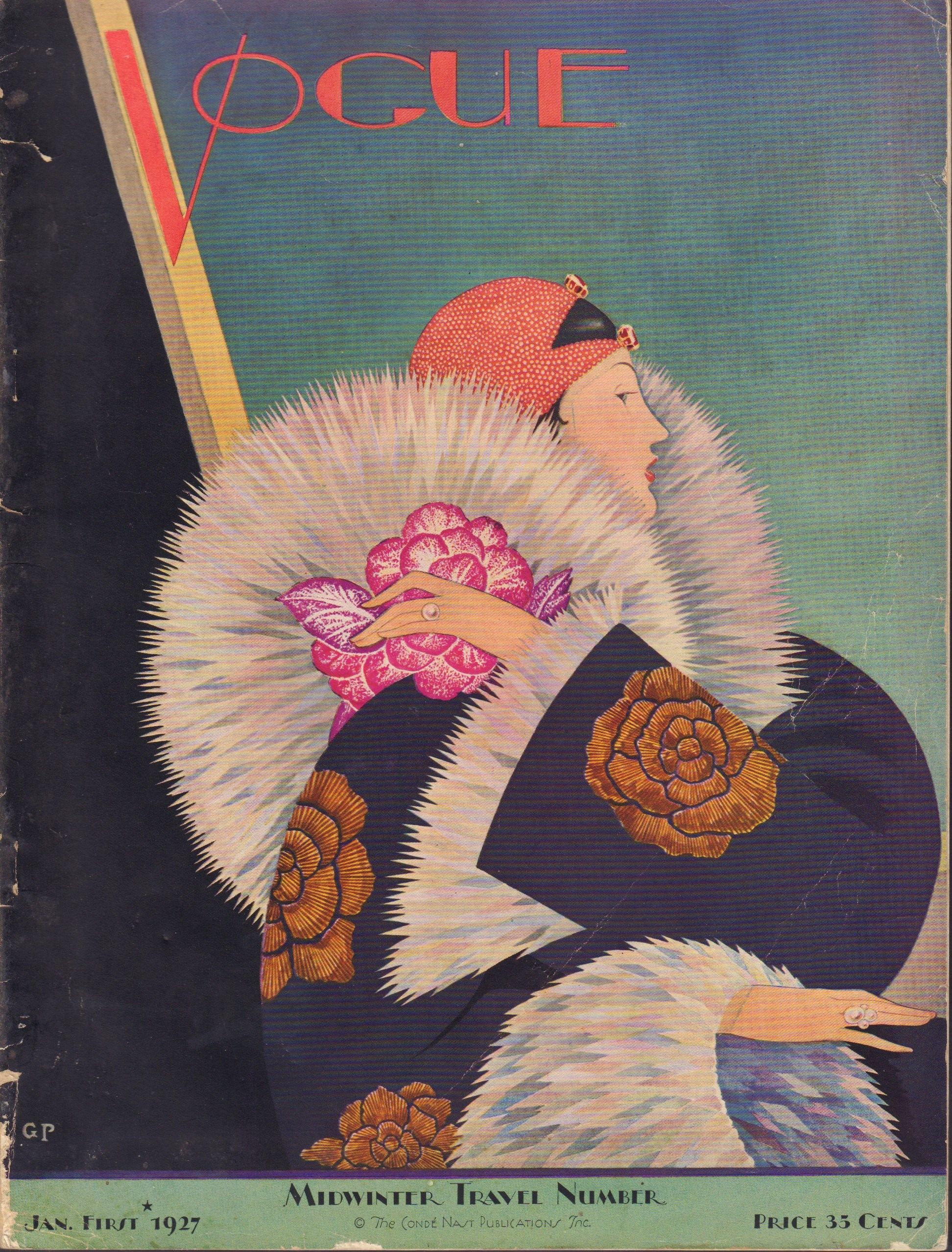 "Image for ""Vogue January 1, 1927"""
