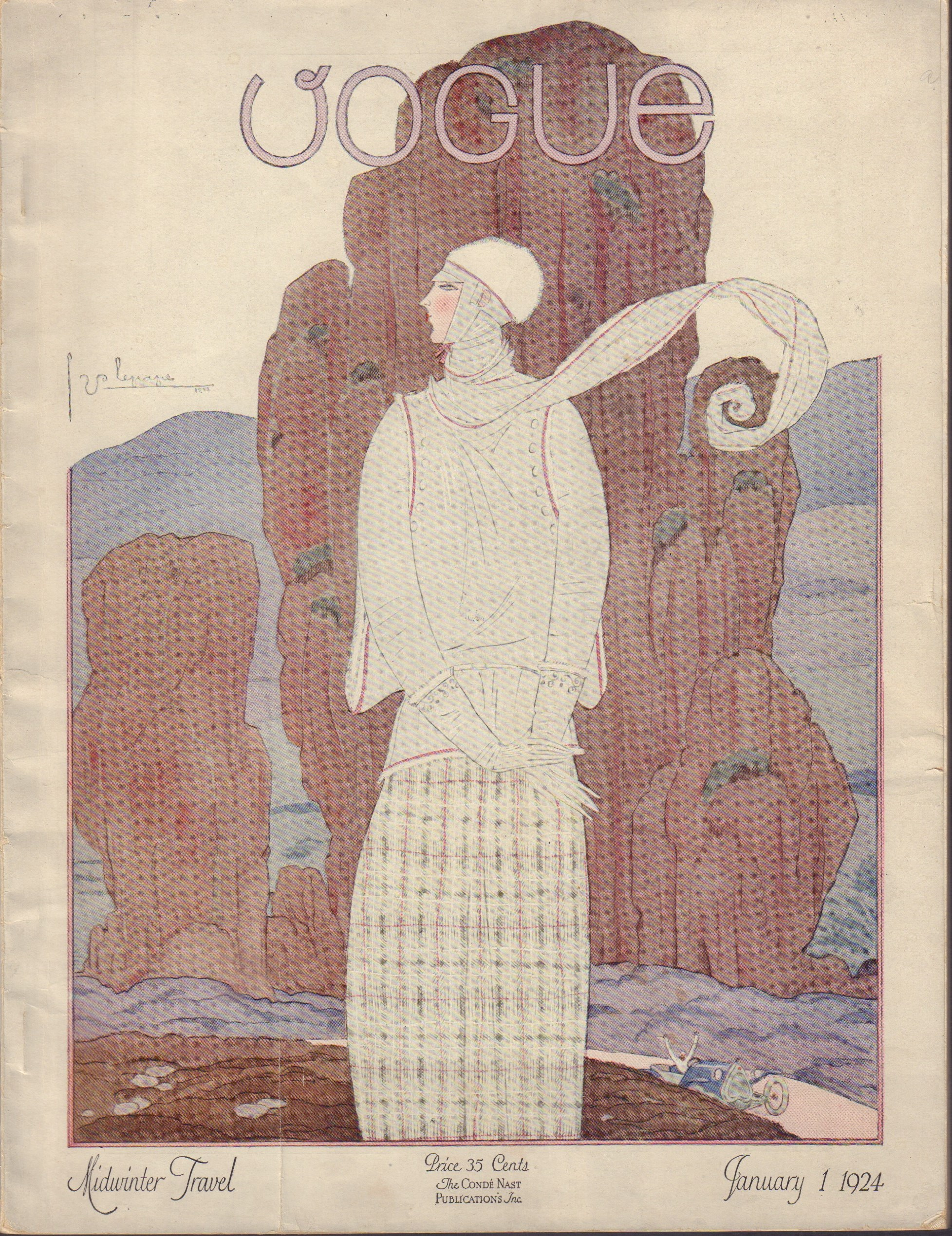 "Image for ""Vogue January 1, 1924"""