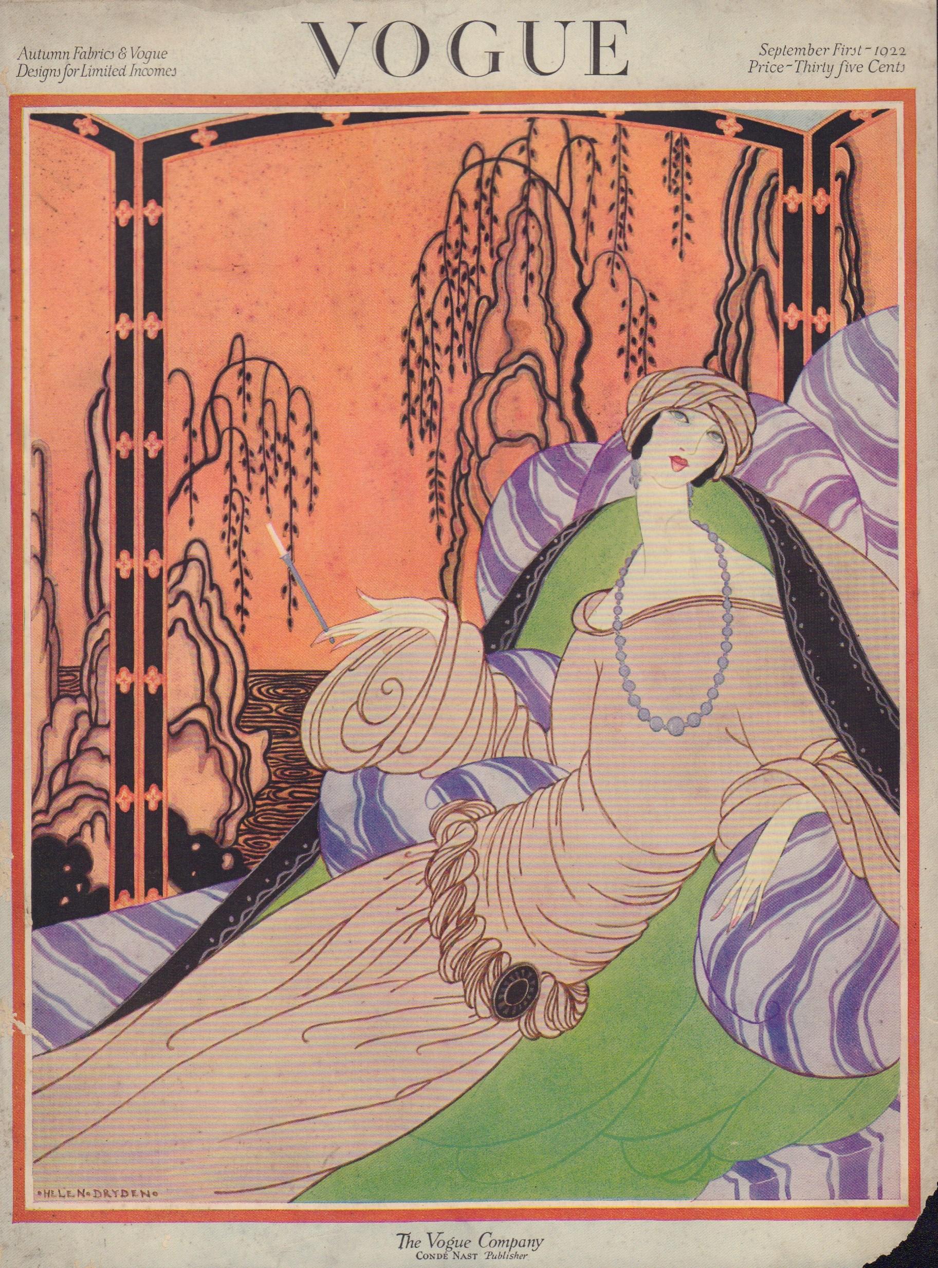 "Image for ""Vogue September 1, 1922 Cover"""