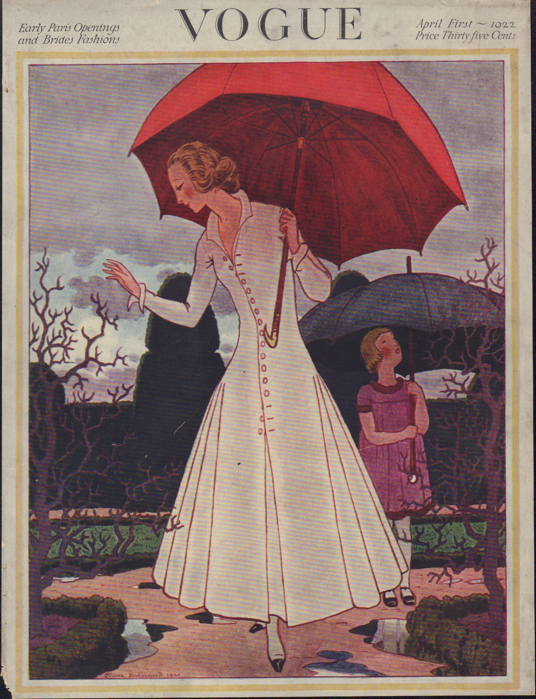 Image for Vogue April 1, 1922 Cover