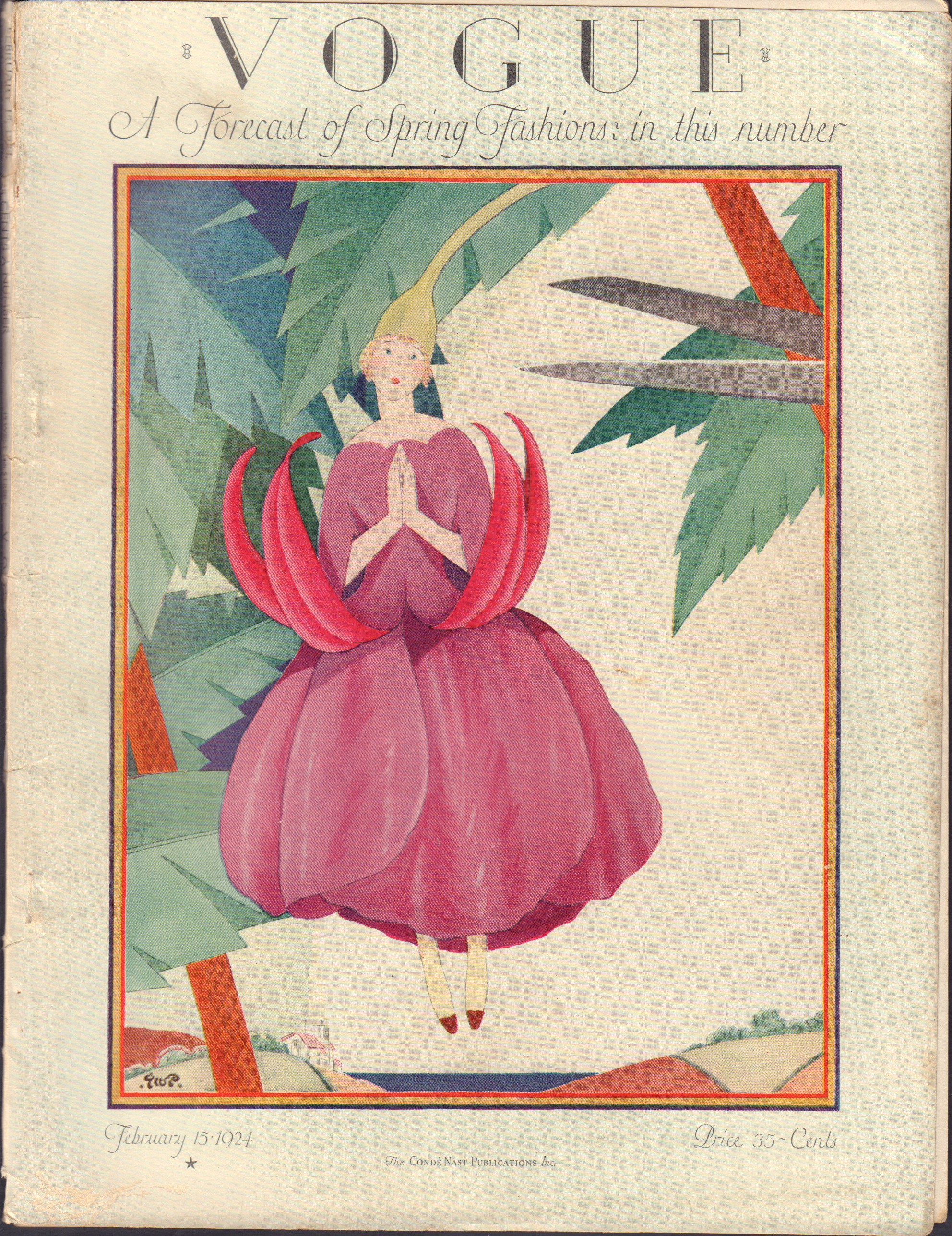 Image for Vogue February 15, 1924