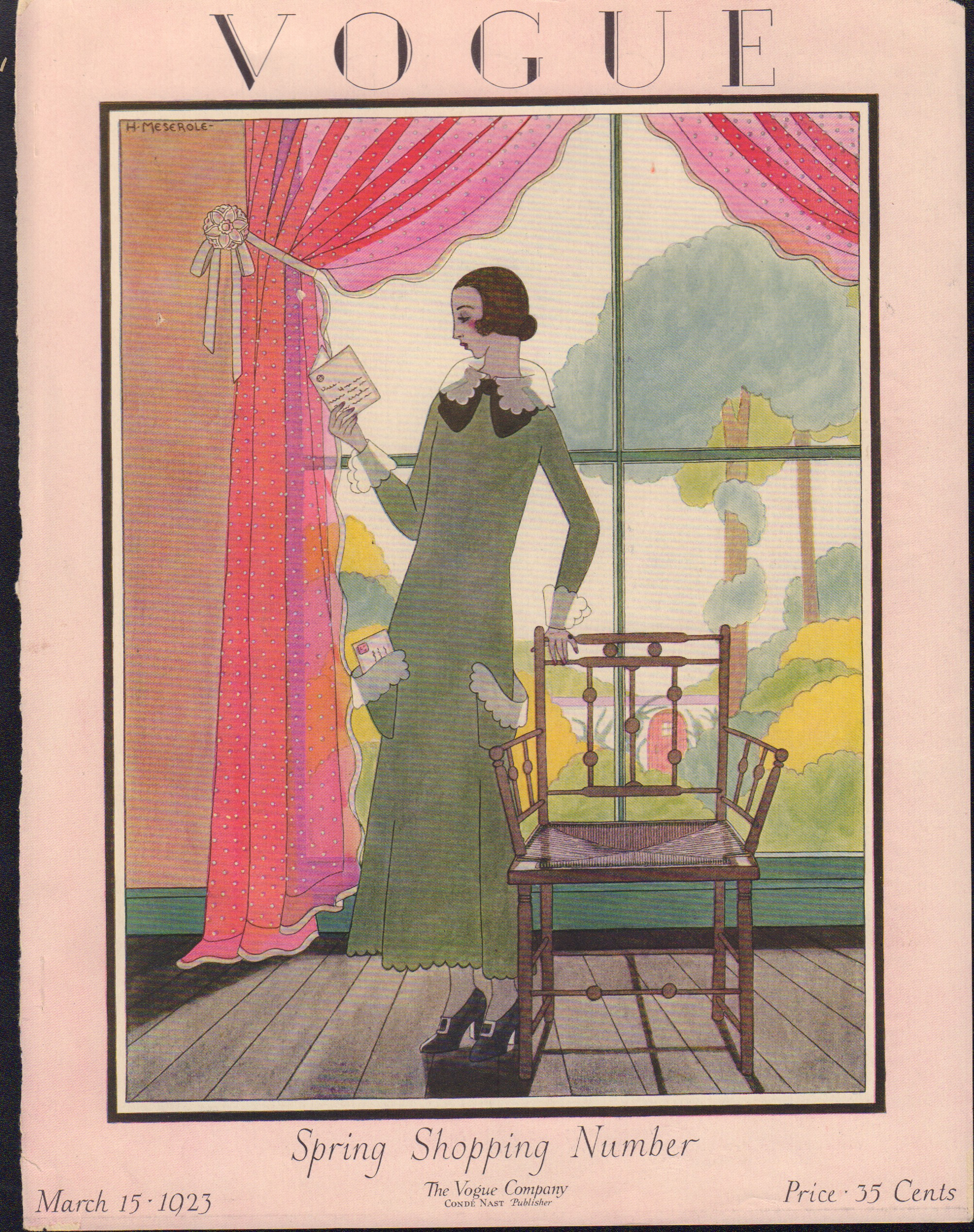 Image for Vogue March 15, 1923 Cover