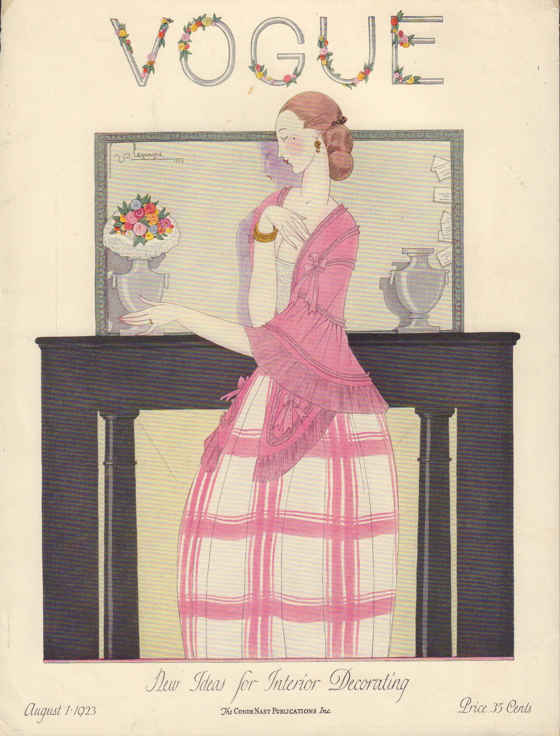 Image for Vogue August 1, 1923 Cover