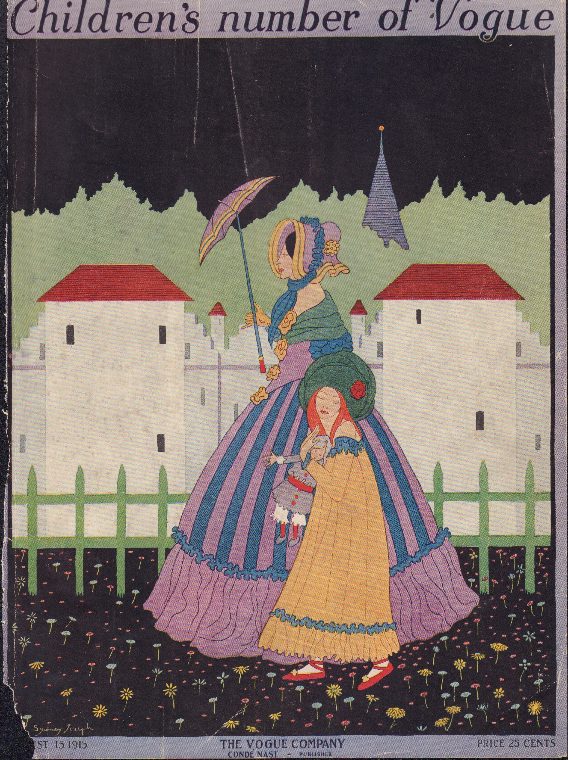 Image for Vogue August 15, 1915 Cover