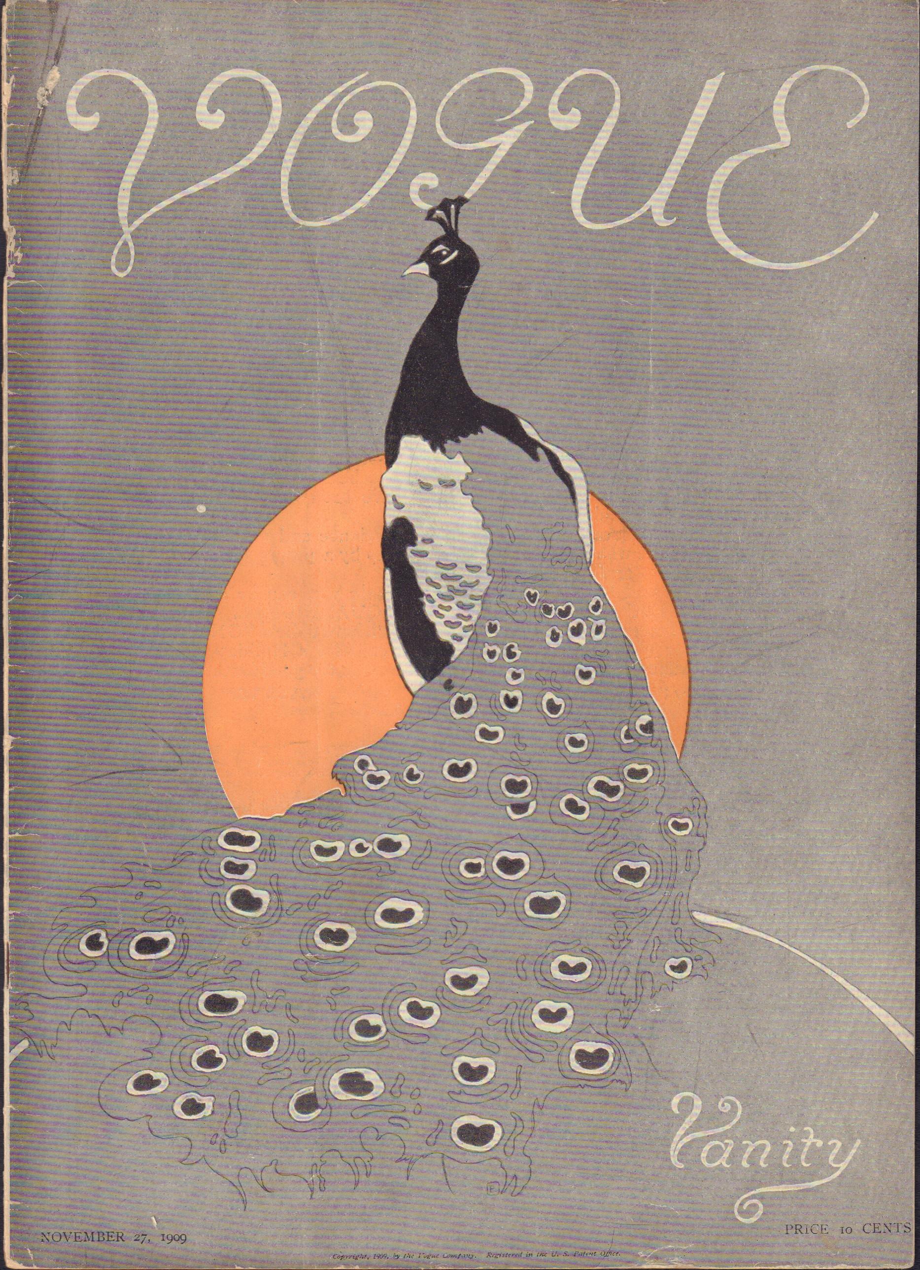 """Image for """"Vogue November 27, 1909"""""""