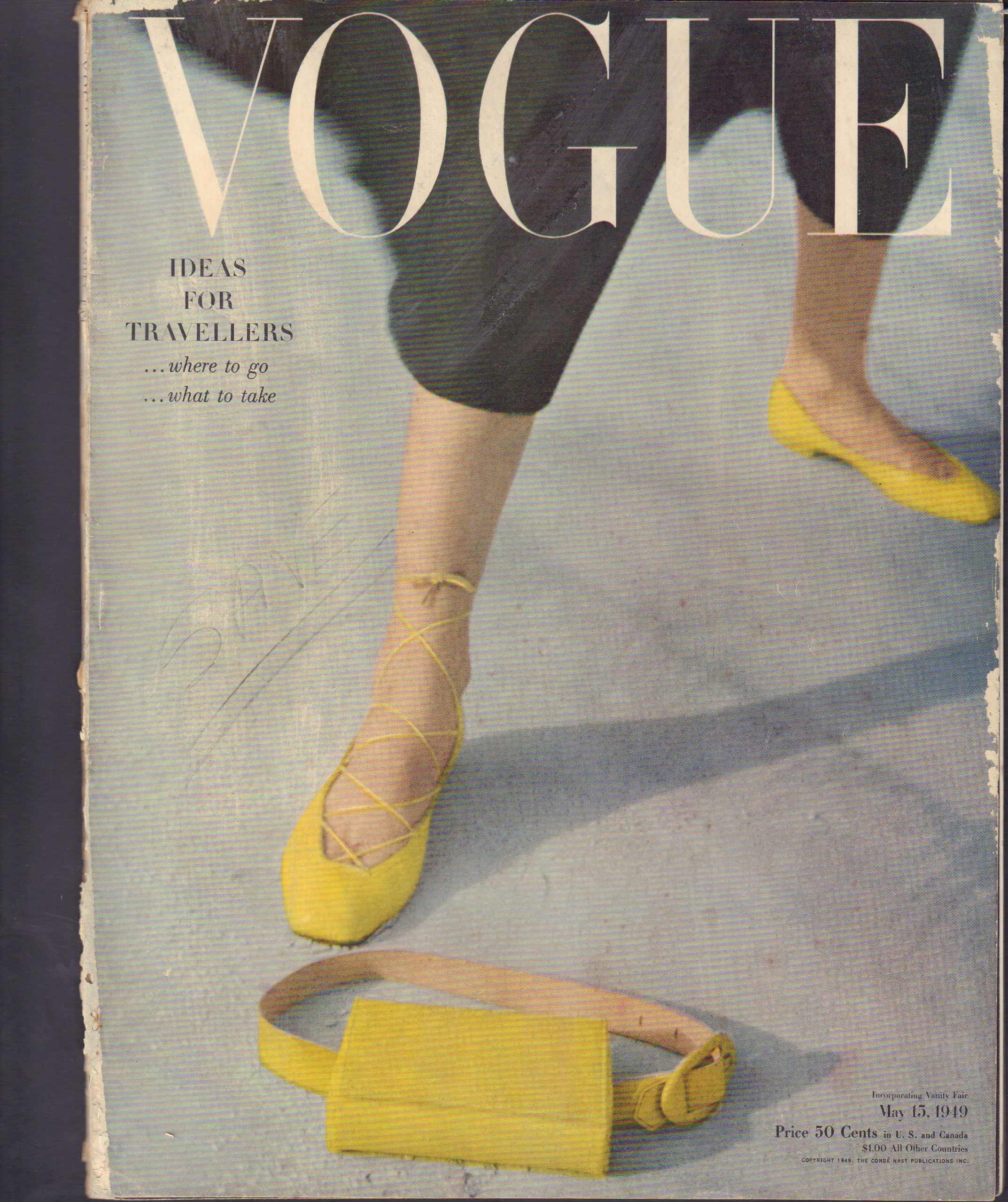 Image for Vogue May 15, 1949