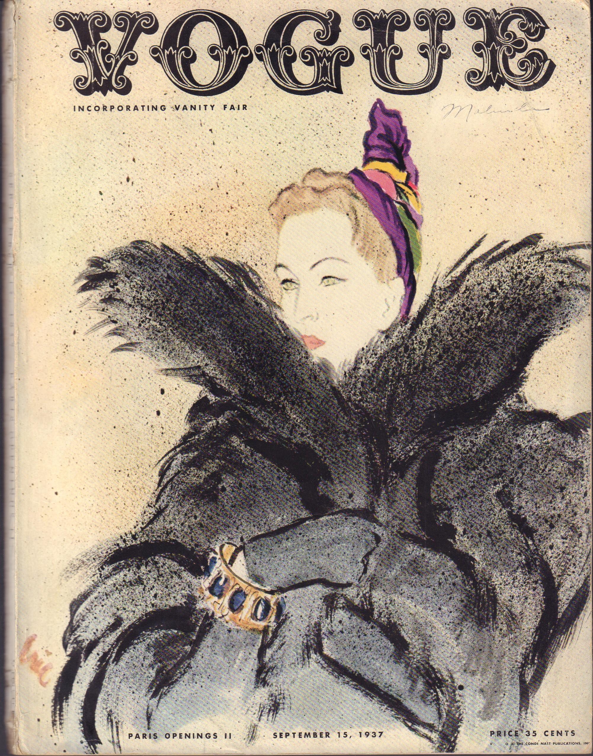 """Image for """"Vogue September 15, 1937"""""""