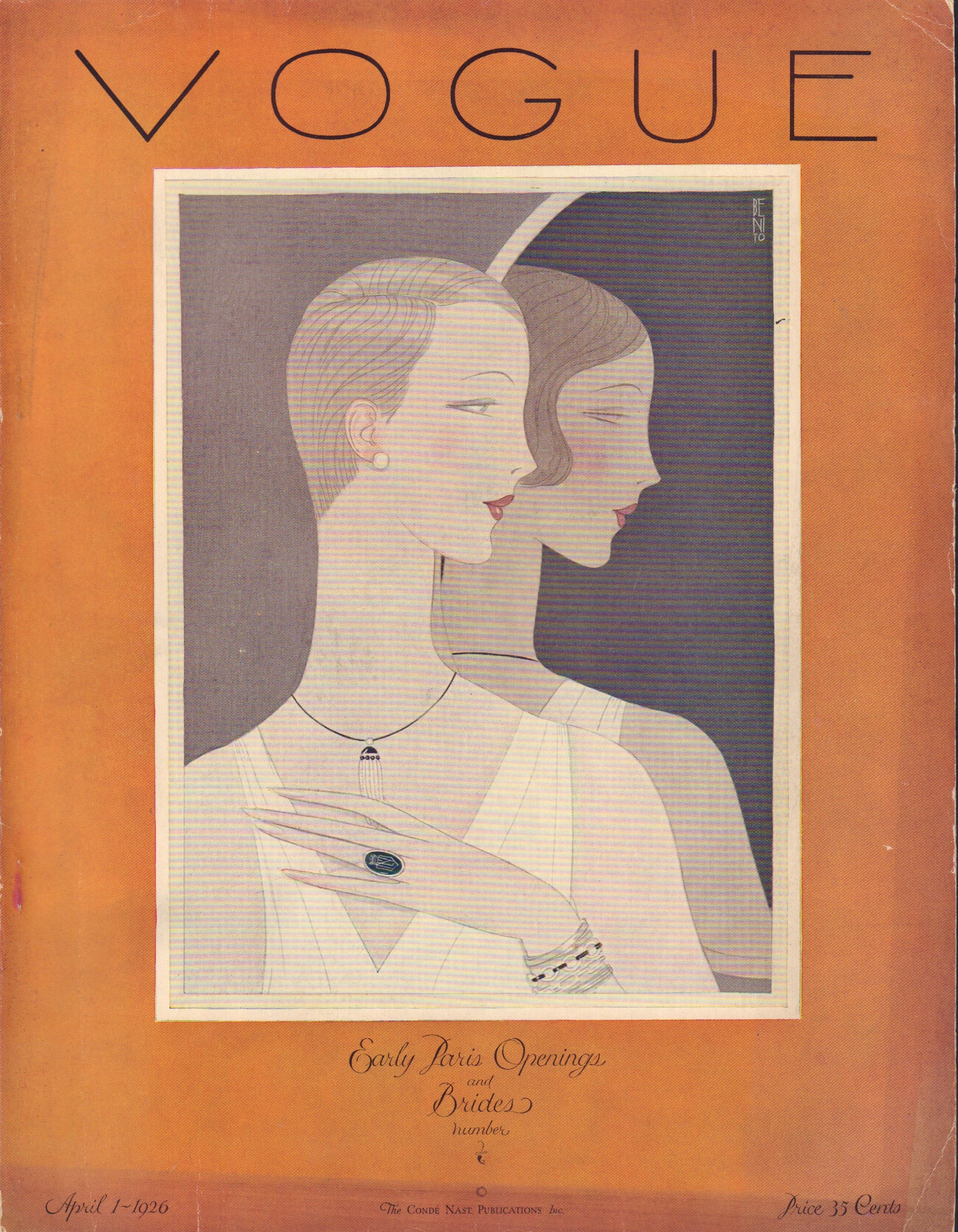 "Image for ""Vogue April 1, 1926"""