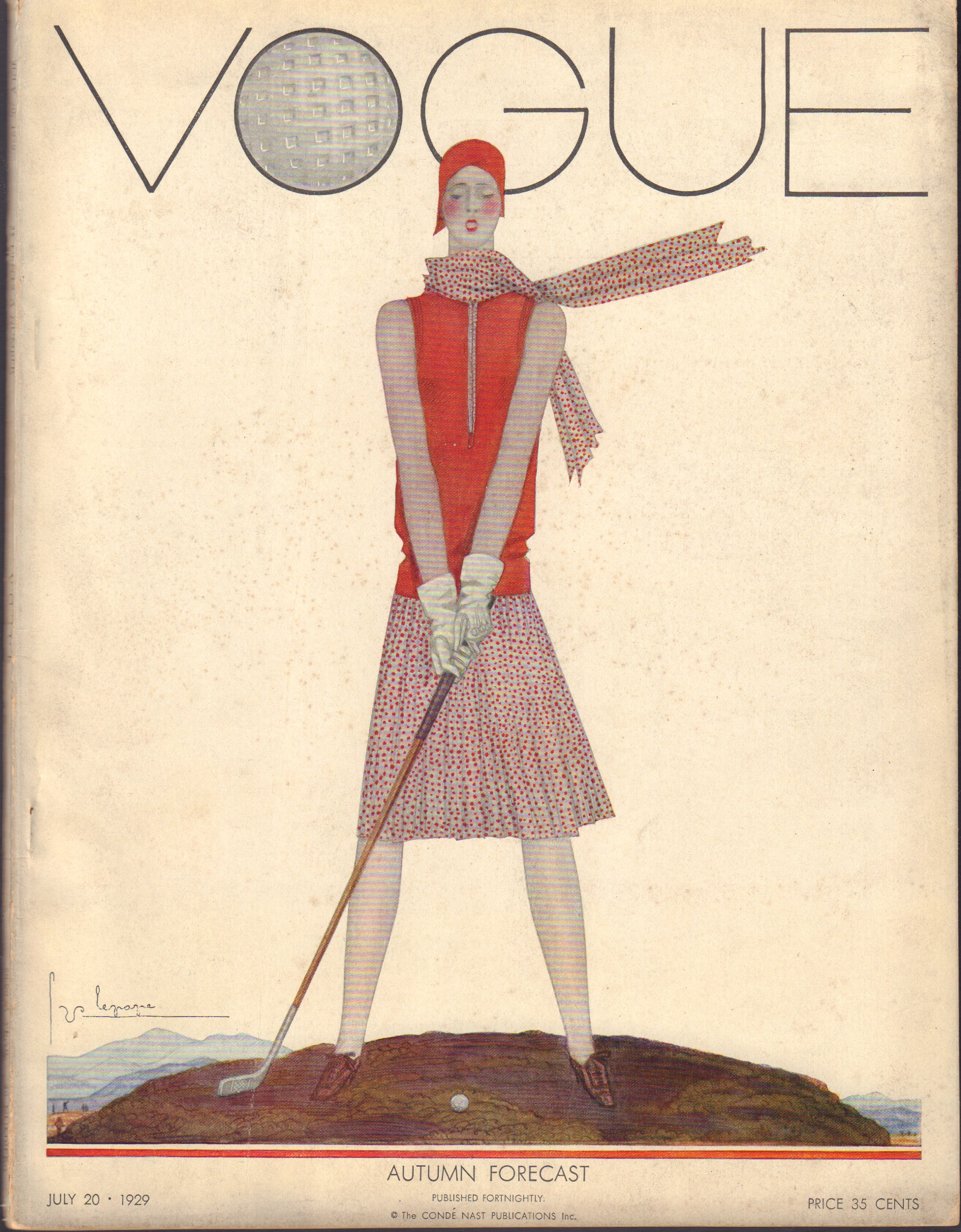Image for Vogue July 20, 1929