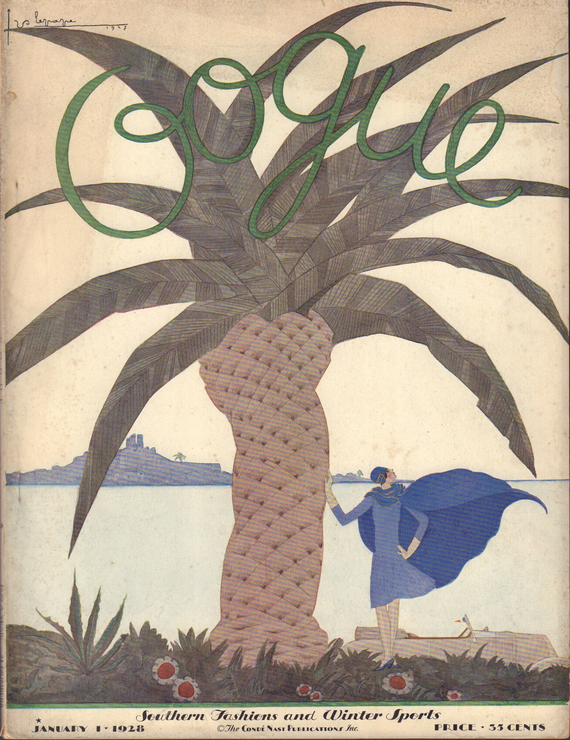 Image for Vogue January 1, 1928