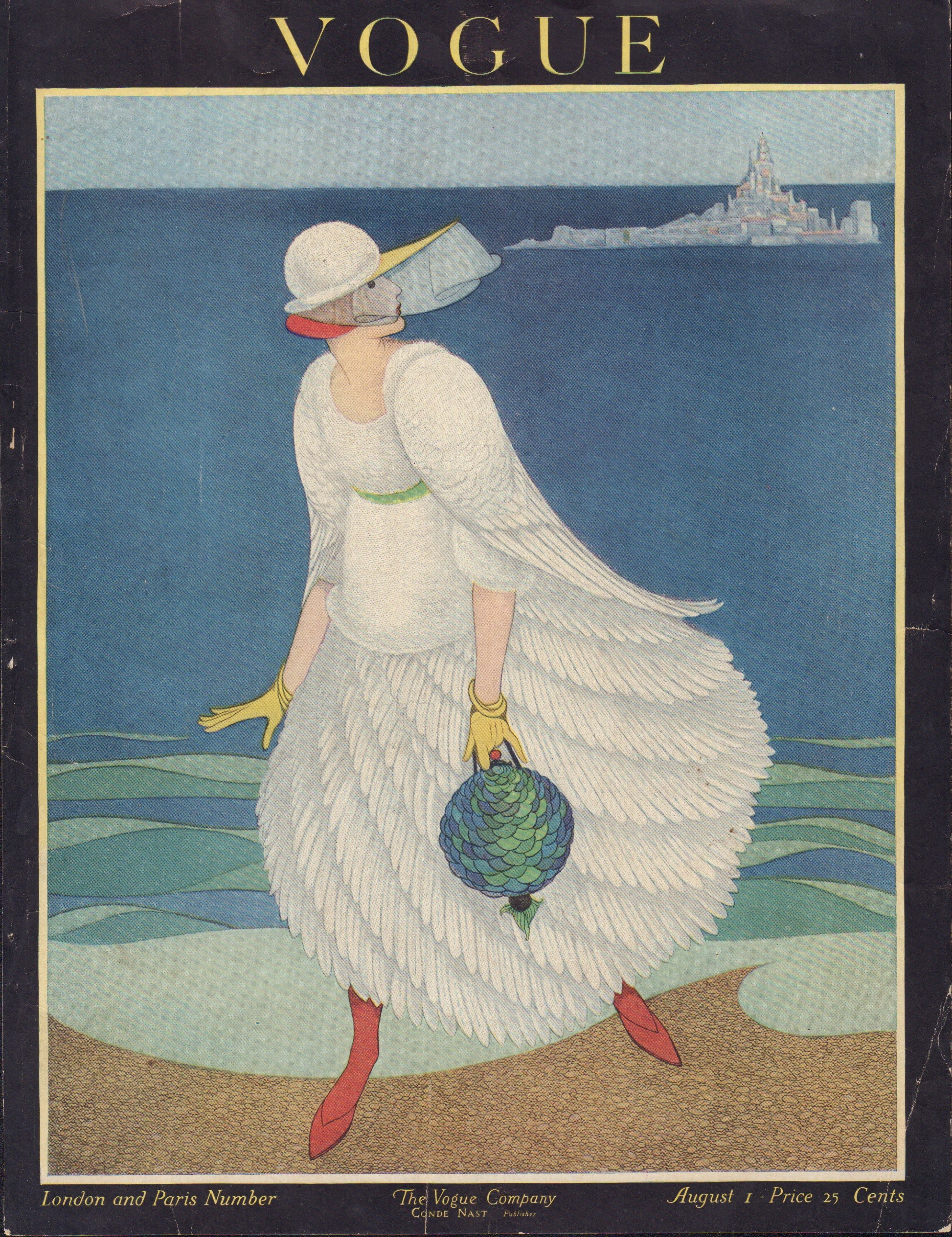 Image for Vogue August 1, 1916 Cover