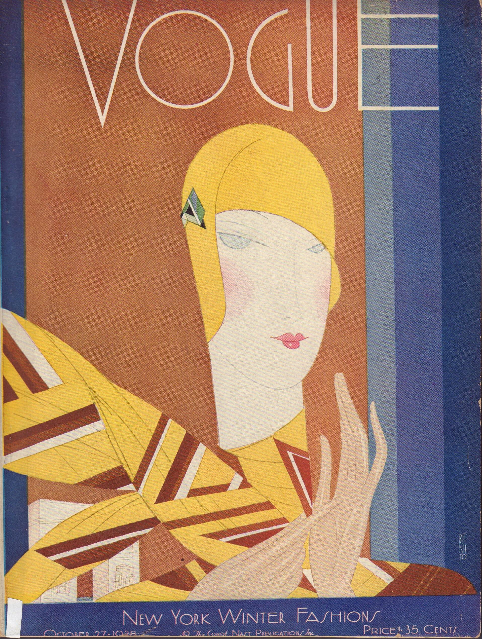 """Image for """"Vogue October 27, 1928"""""""