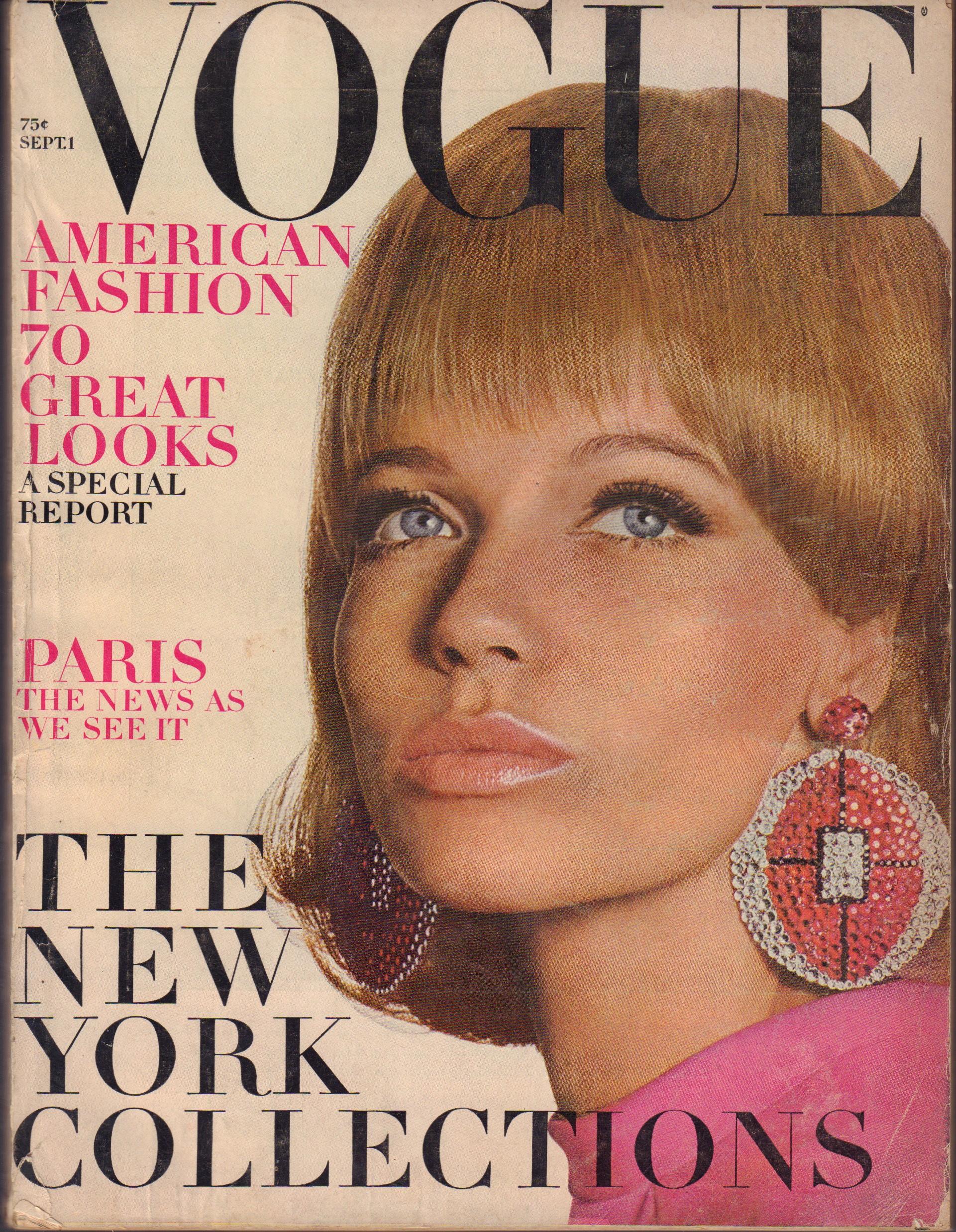 """Image for """"Vogue September 1, 1966"""""""