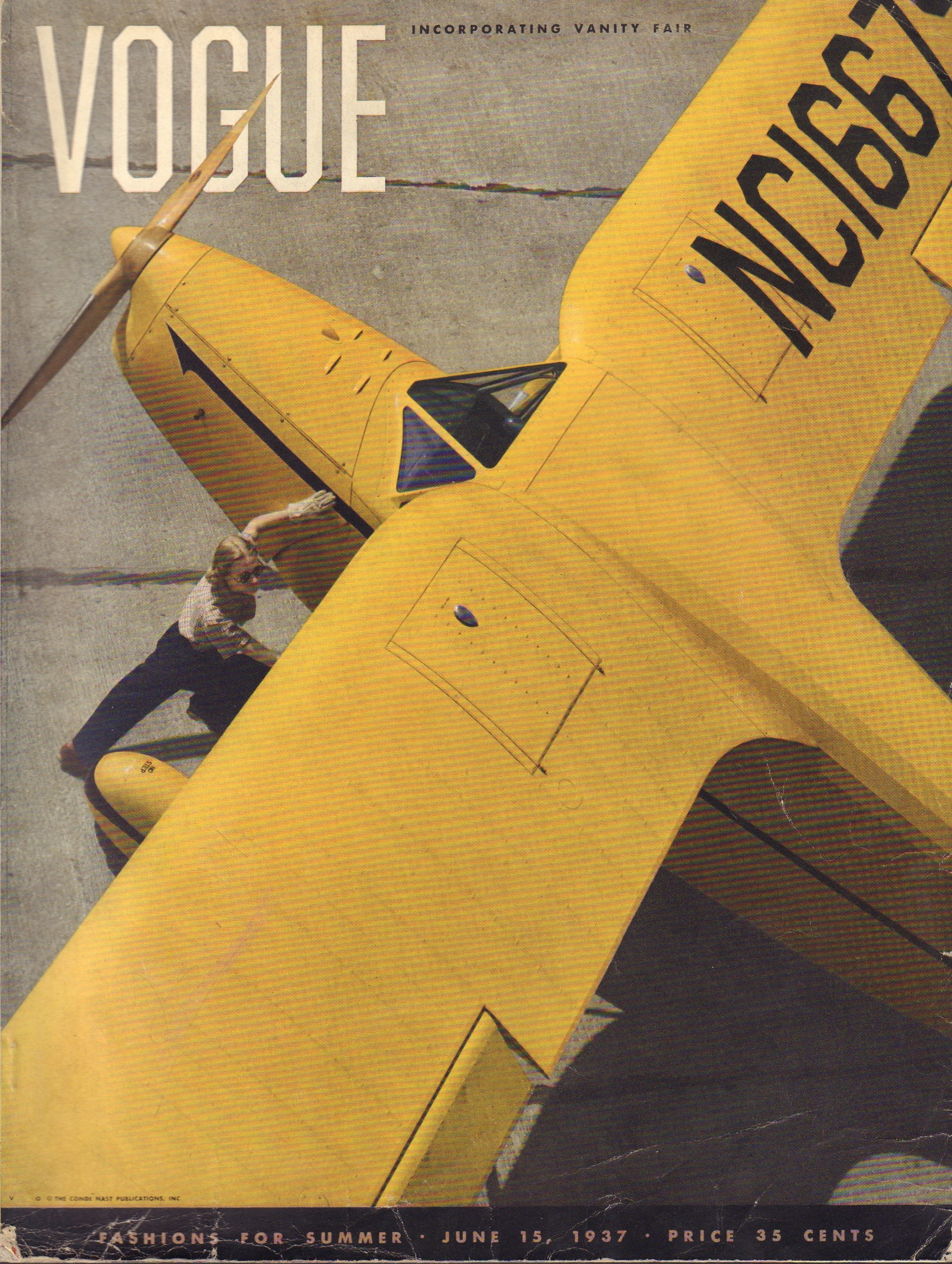 Image for Vogue June 15, 1937