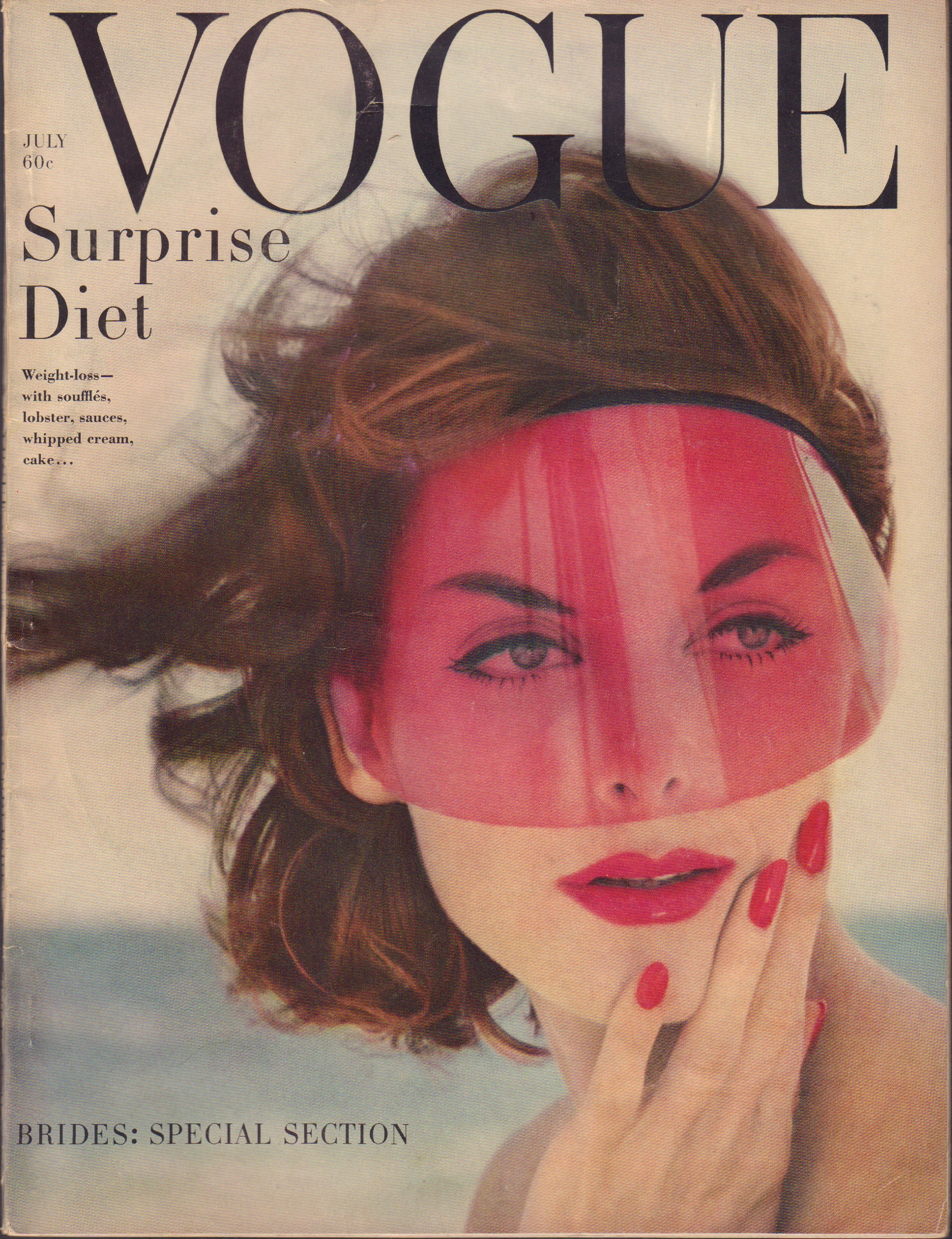 Image for Vogue July 1958
