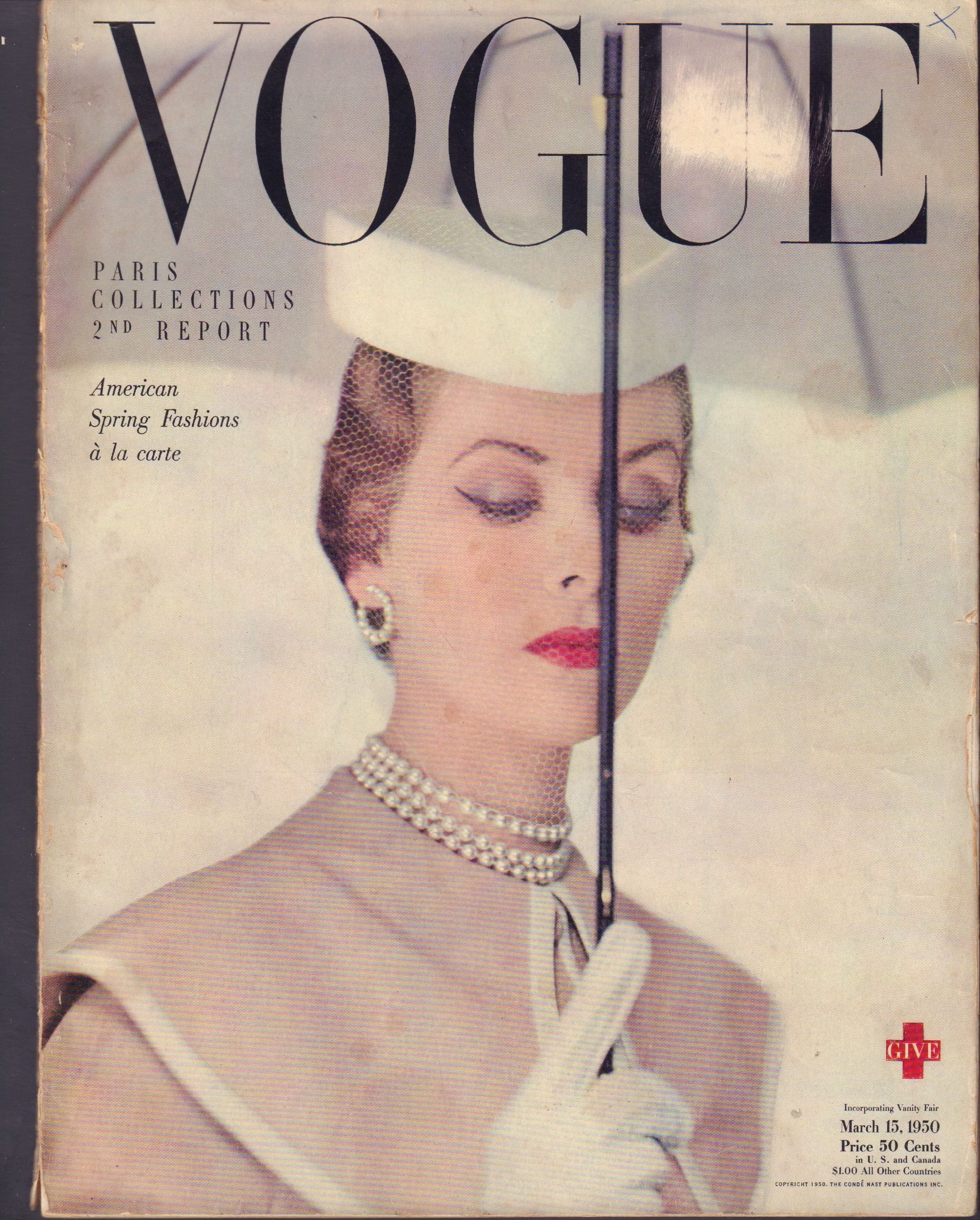 Image for Vogue March 15, 1950