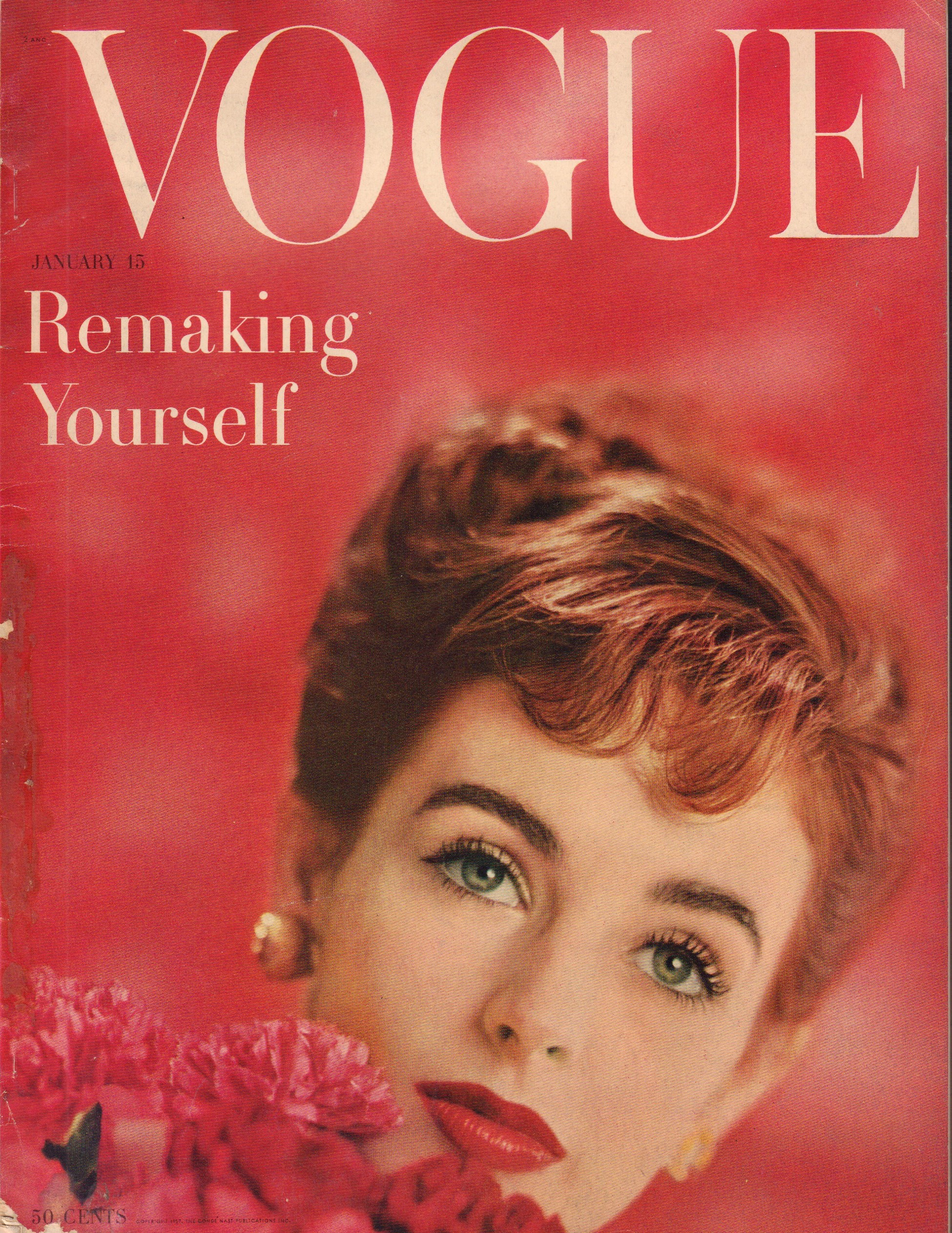 "Image for ""Vogue January 15, 1957"""