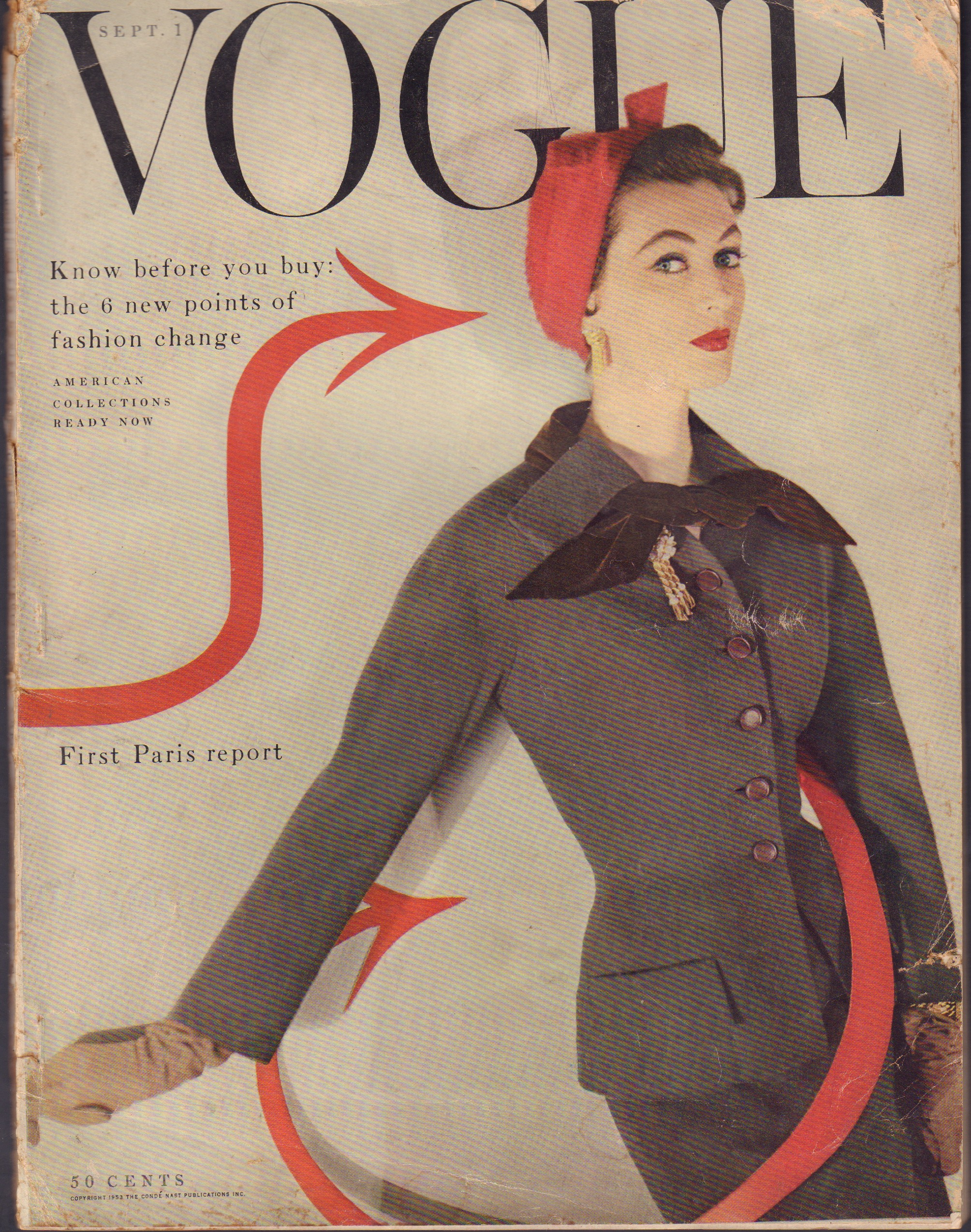 "Image for ""Vogue September 1, 1953"""