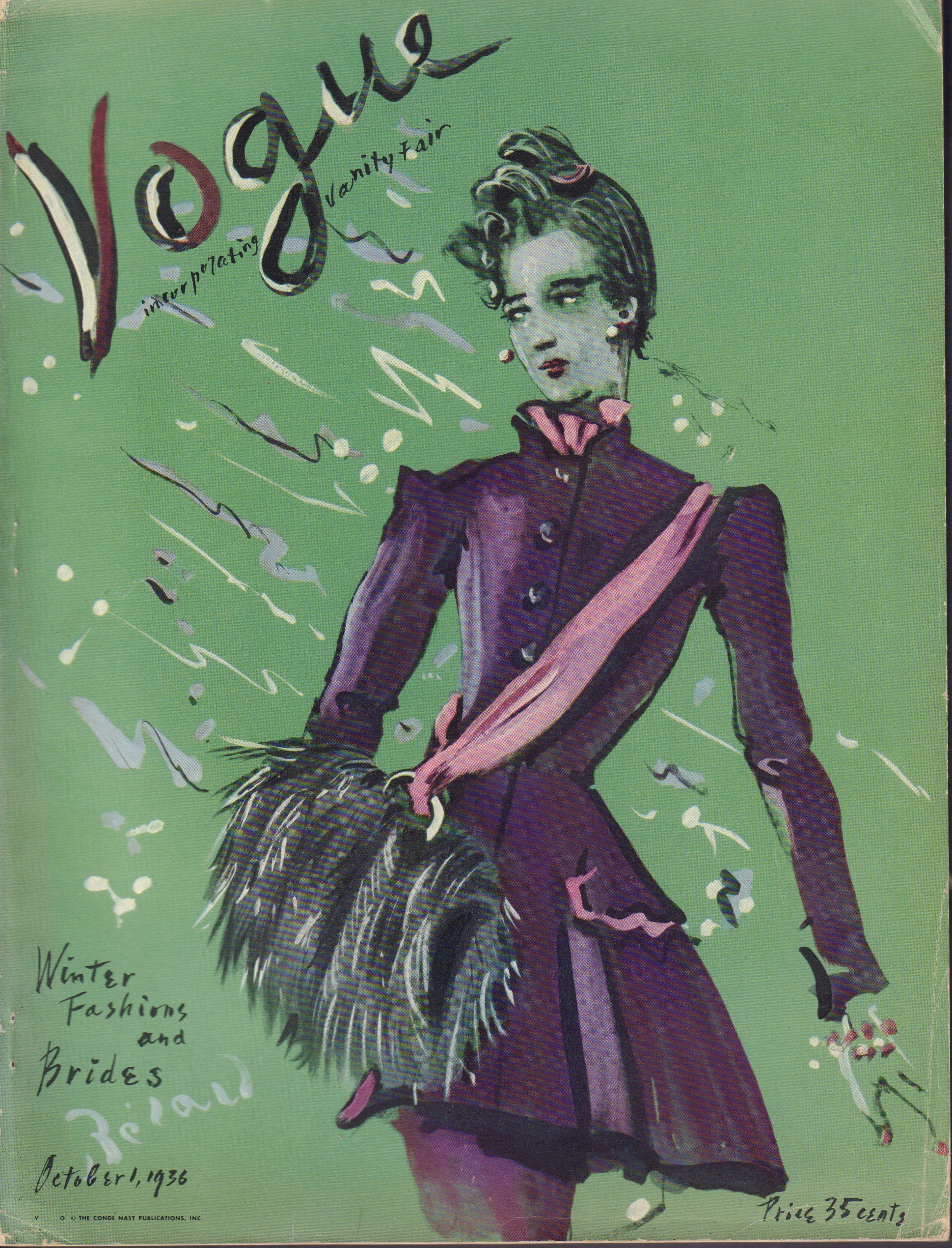 Image for Vogue October 1, 1936