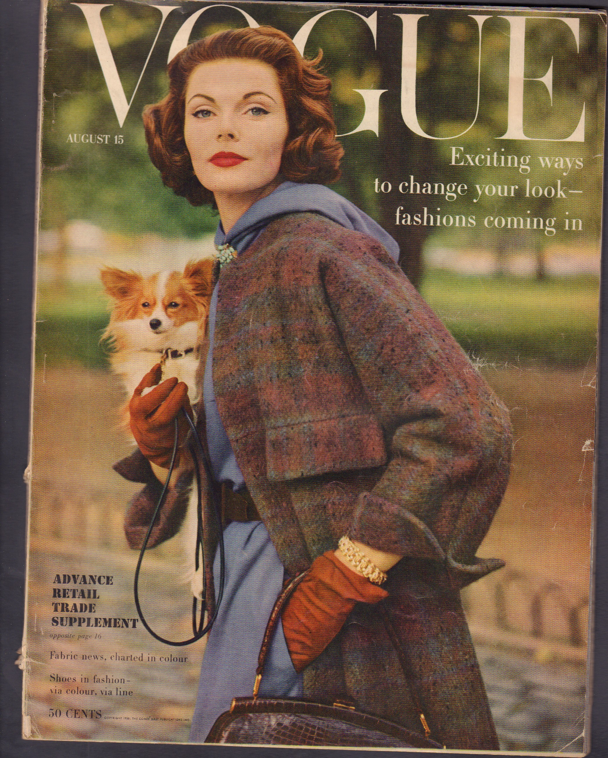 "Image for ""Vogue August 15, 1956"""