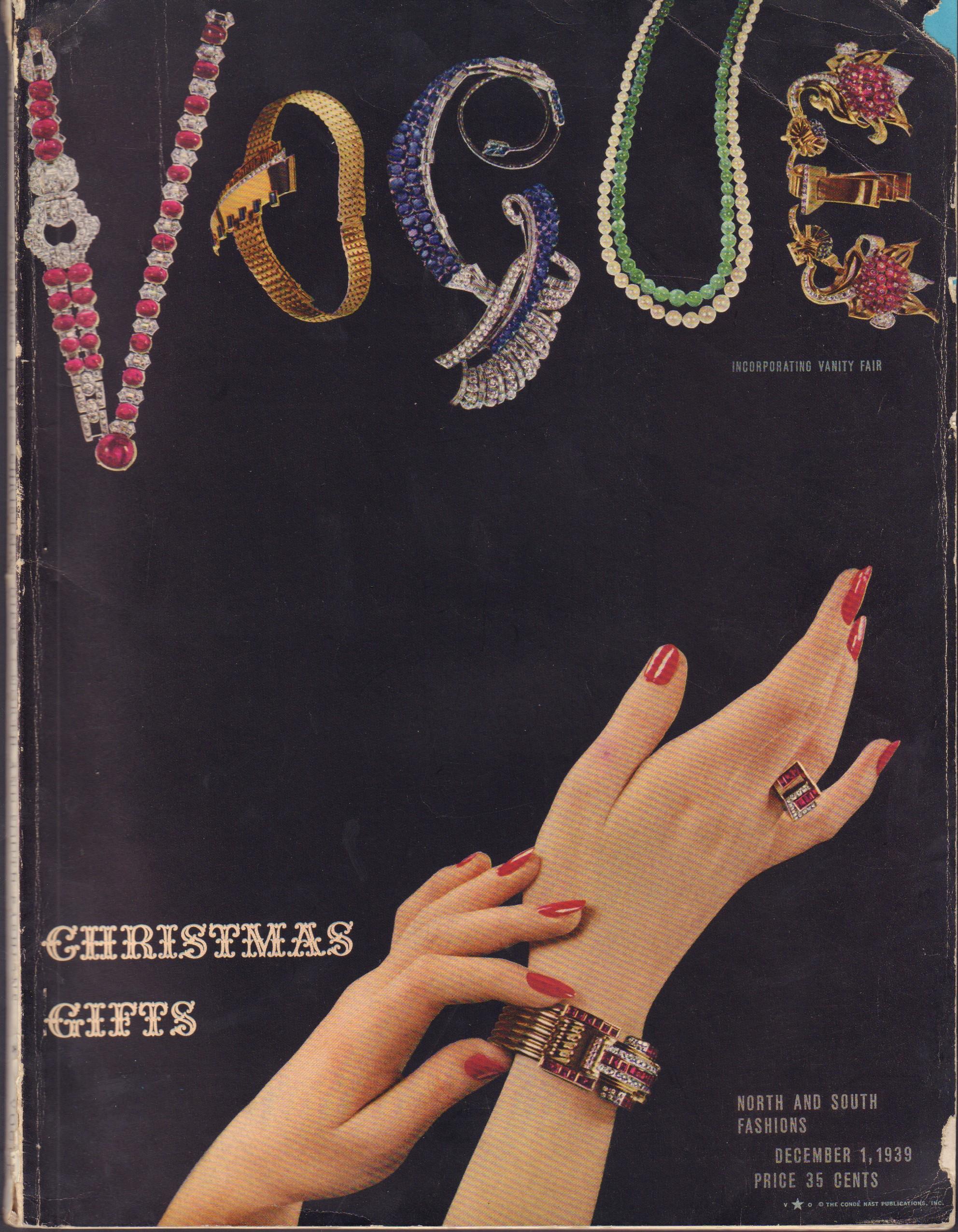 """Image for """"Vogue December 1, 1939"""""""