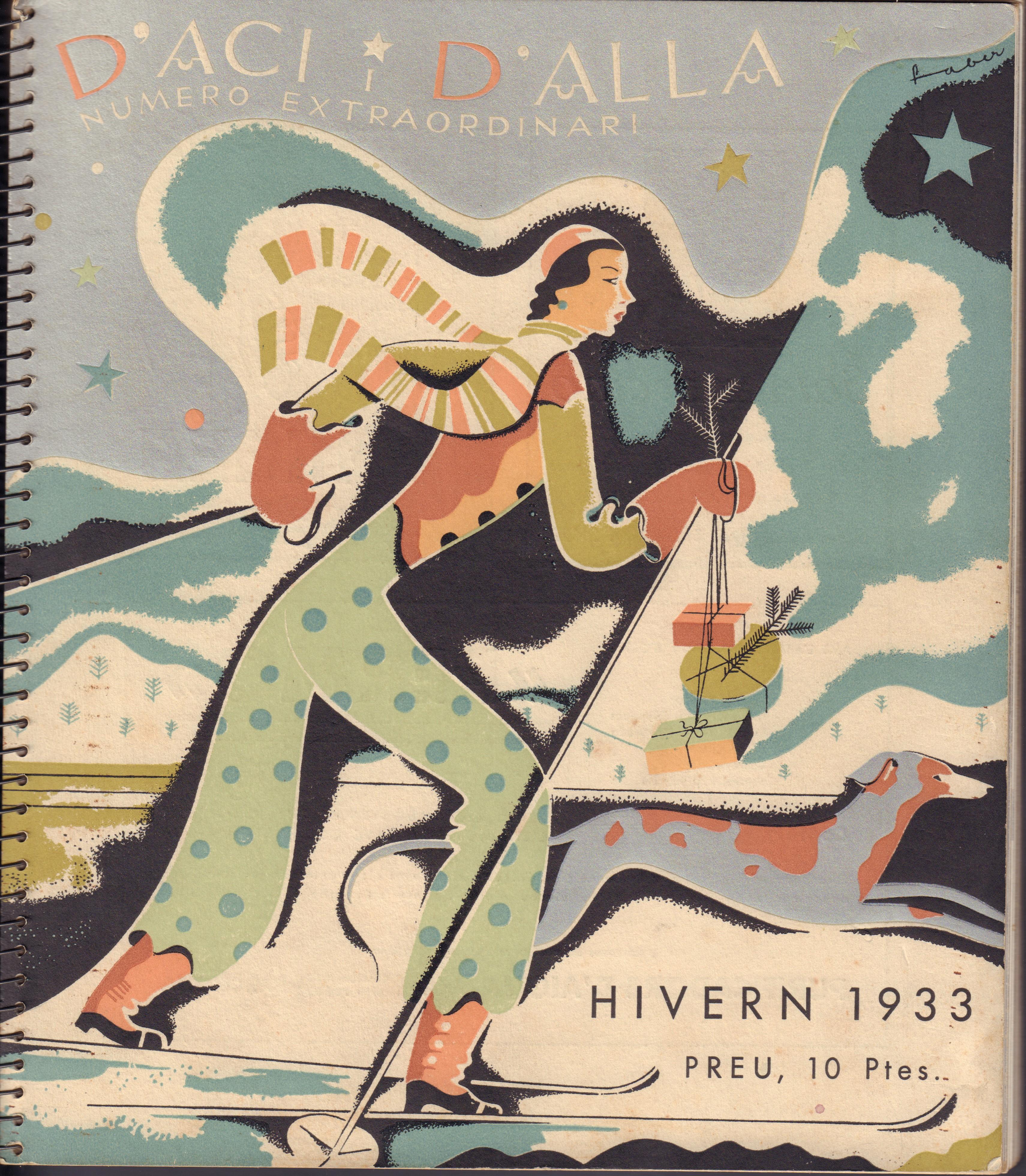 """Image for """"D'aci i D'alla, Numero Extraordinari Hivern 1933"""""""