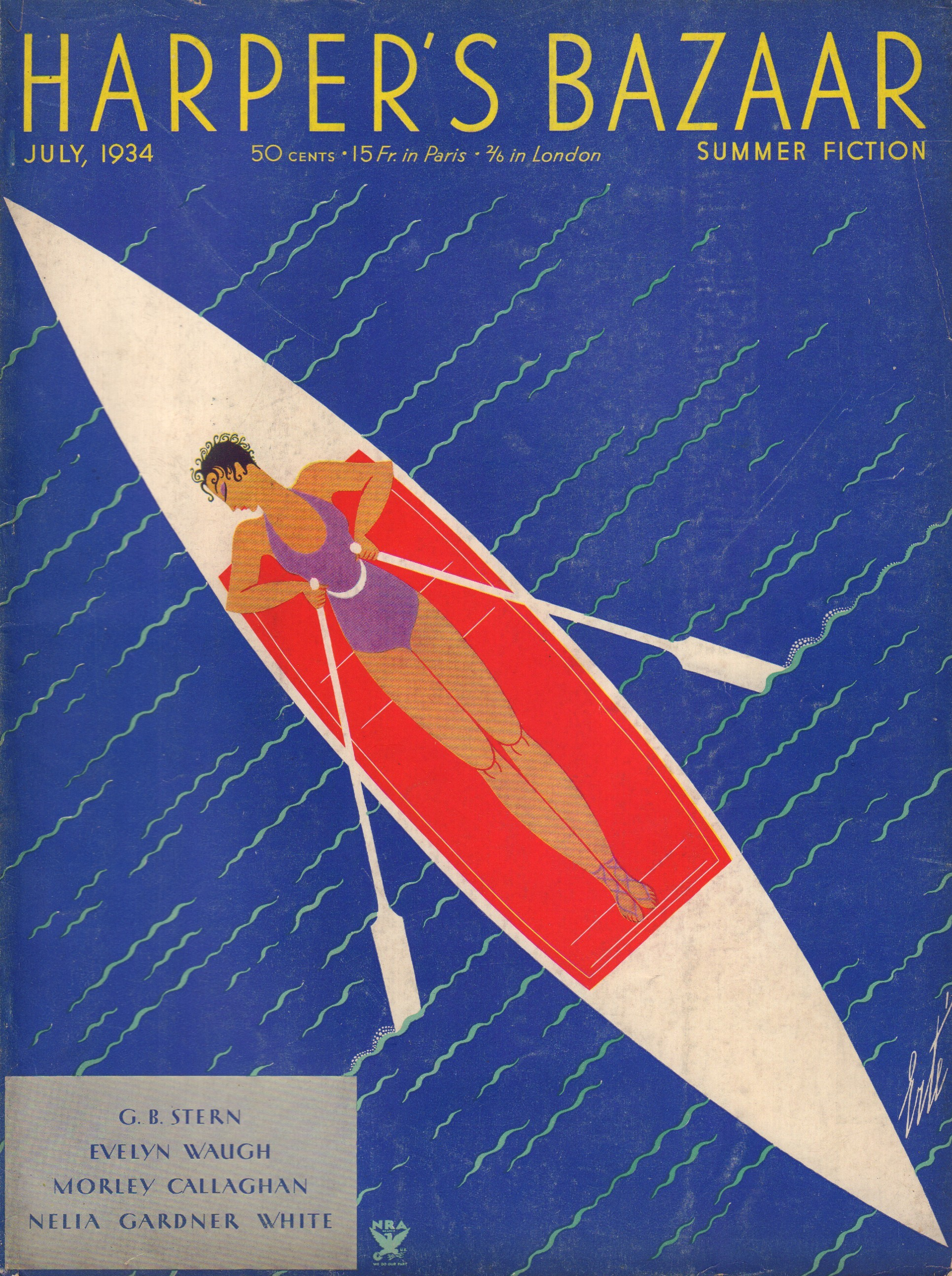 Image for Harper's Bazaar (Bazar) July 1934