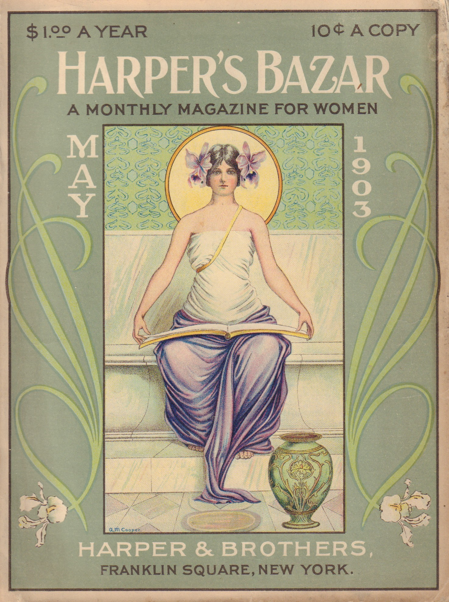 Image for Harper's Bazar (Bazaar) May 1903
