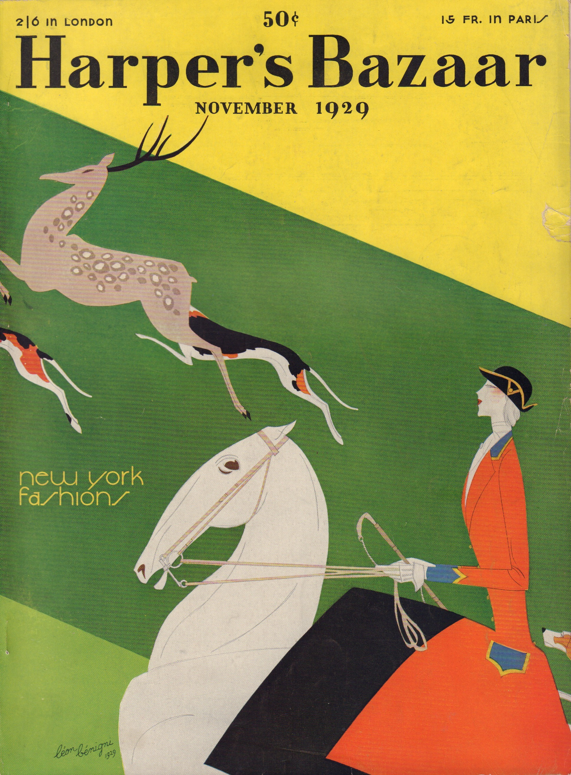 Image for Harper's Bazaar (Bazar) November 1929