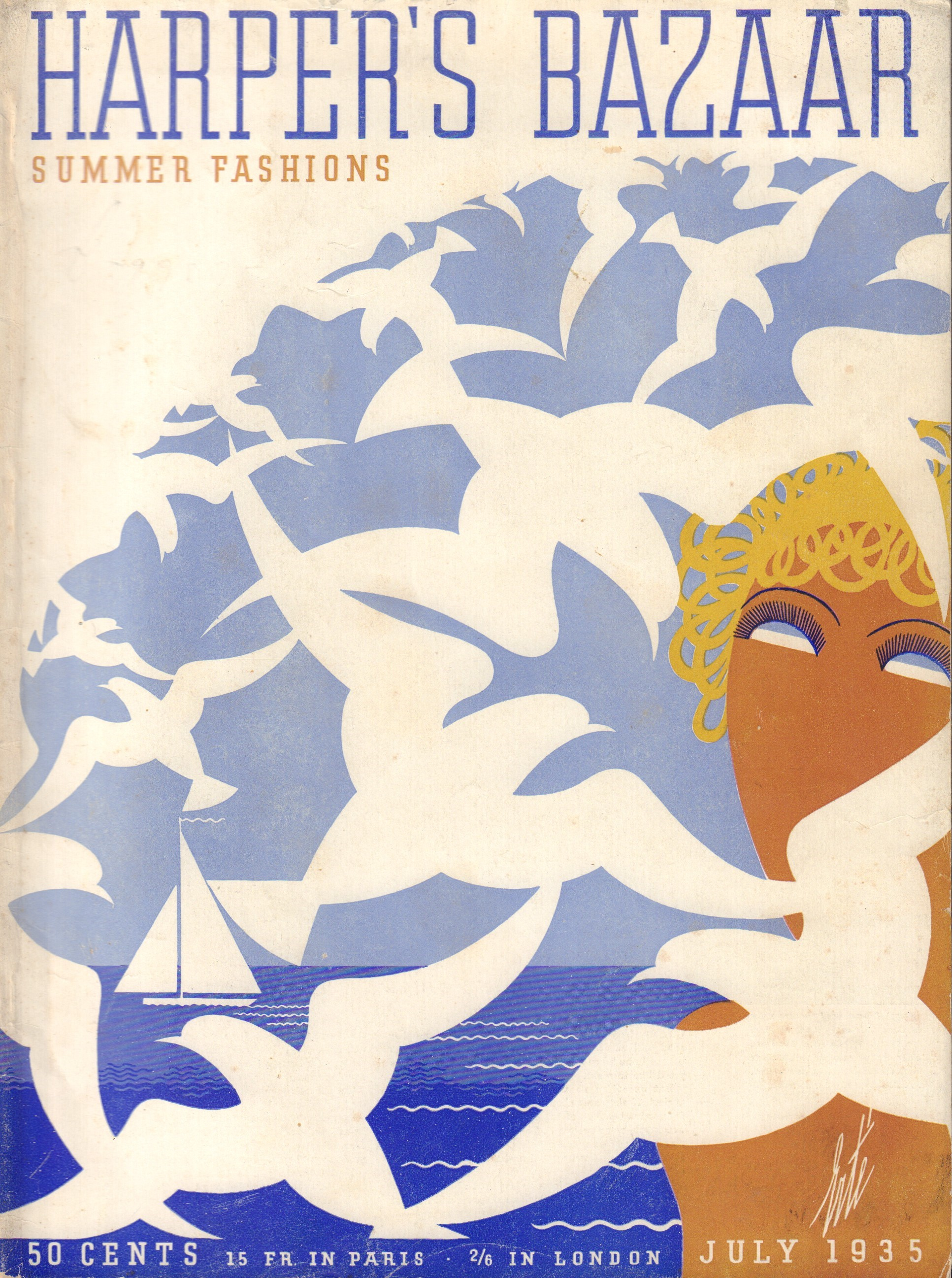 Image for Harper's Bazaar (Bazar) July 1935