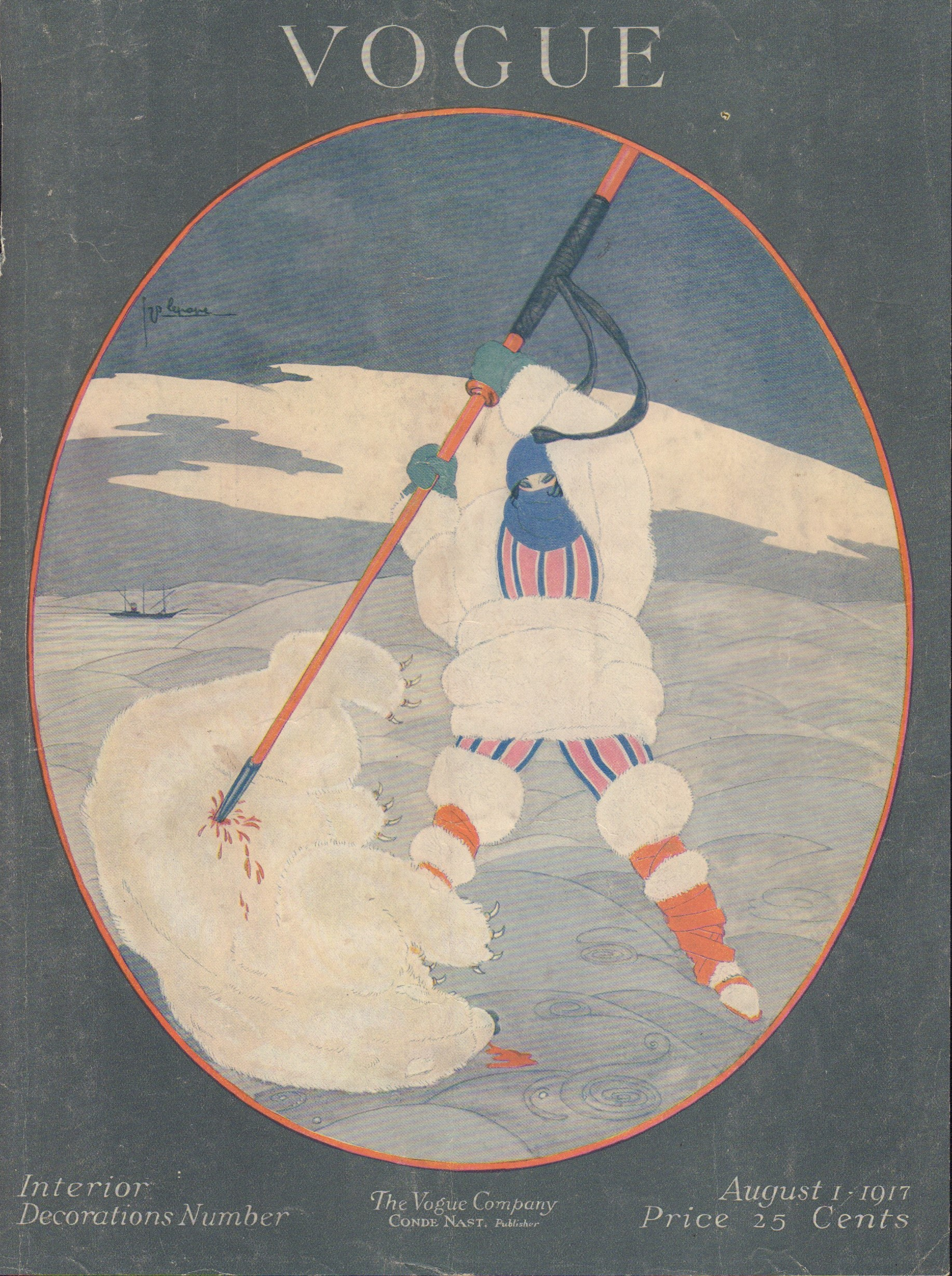 Image for Vogue August 1, 1917 (Cover only)