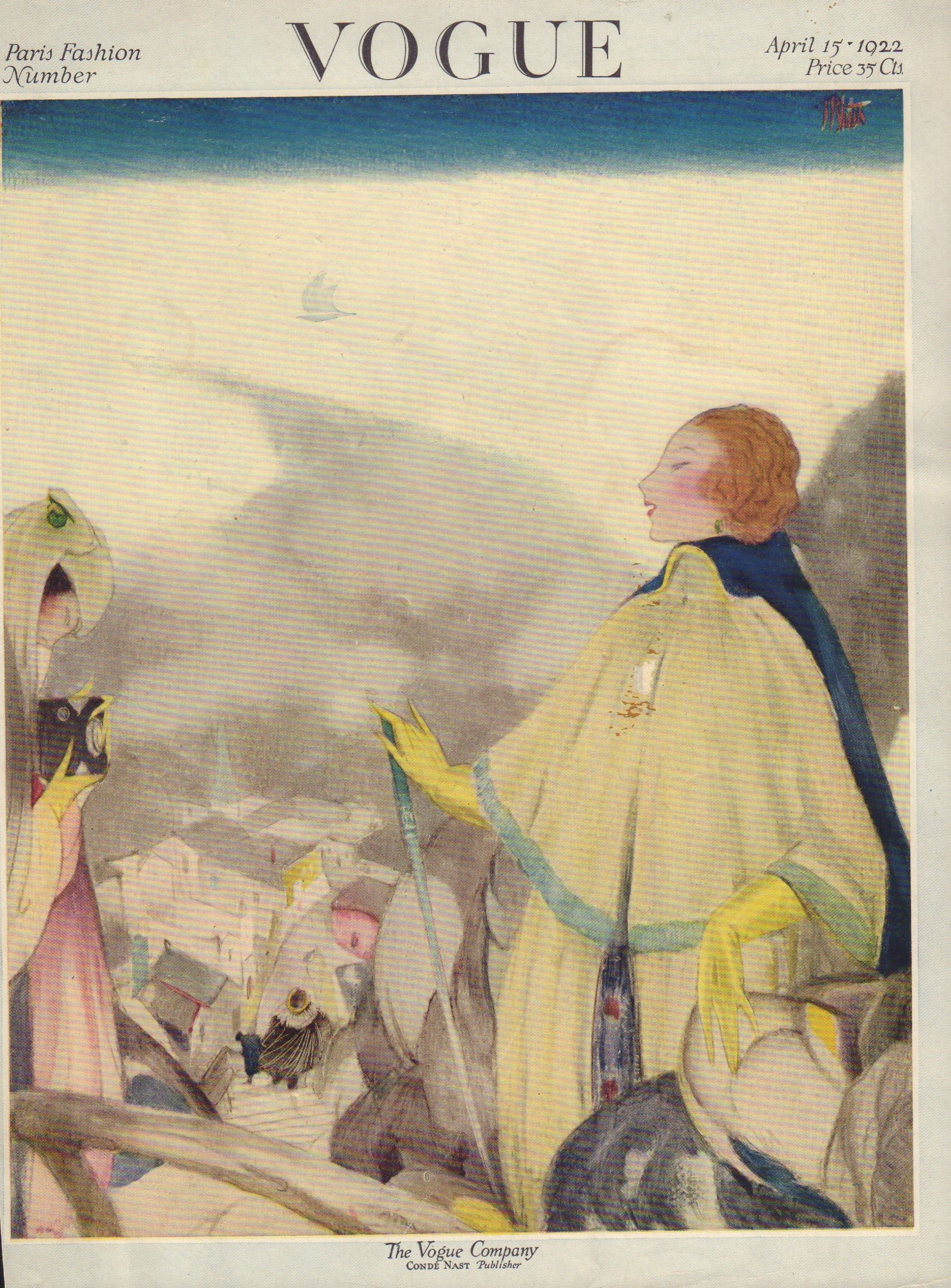 Image for Vogue April 15, 1922 (Cover only)