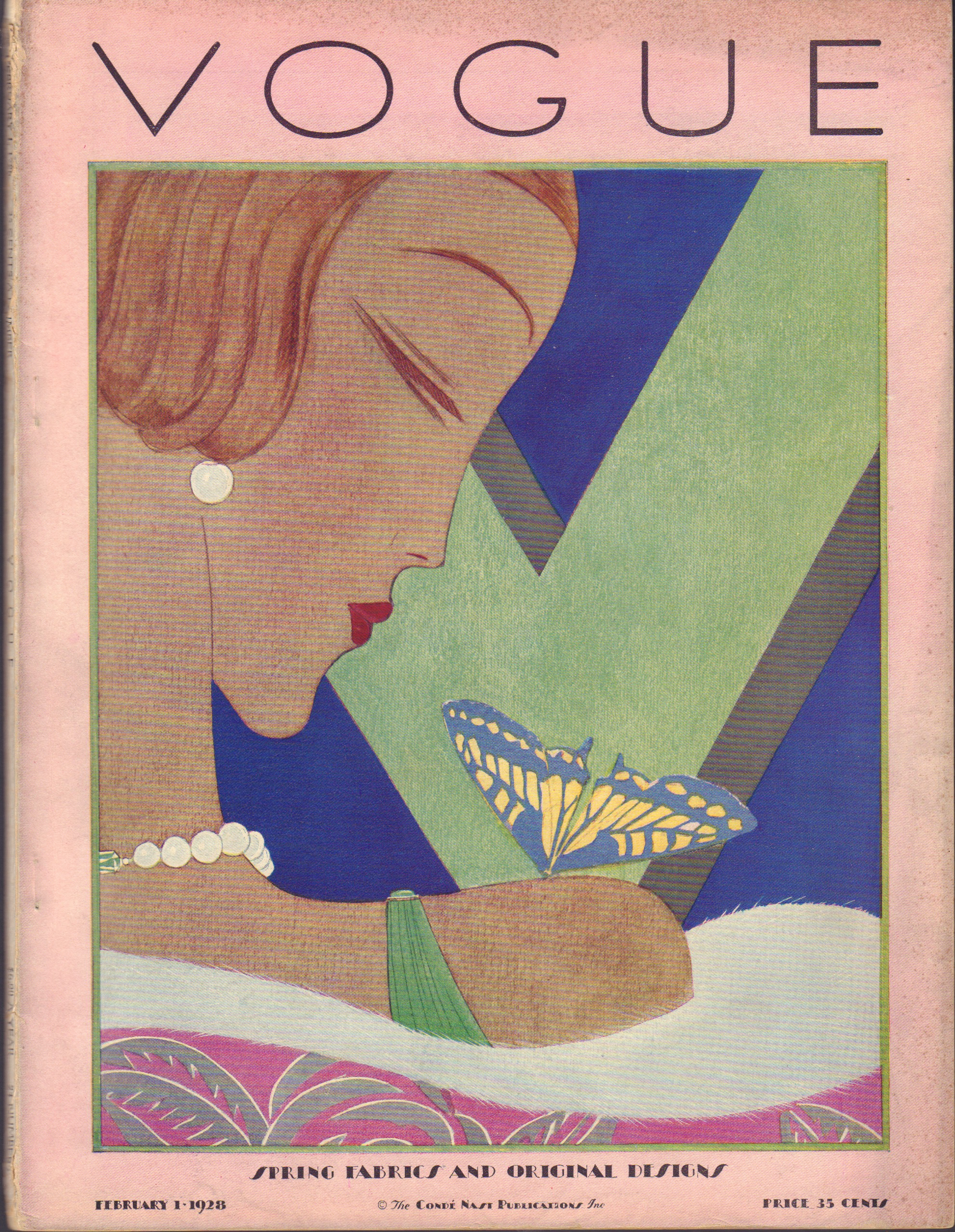 Image for Vogue February 1, 1928