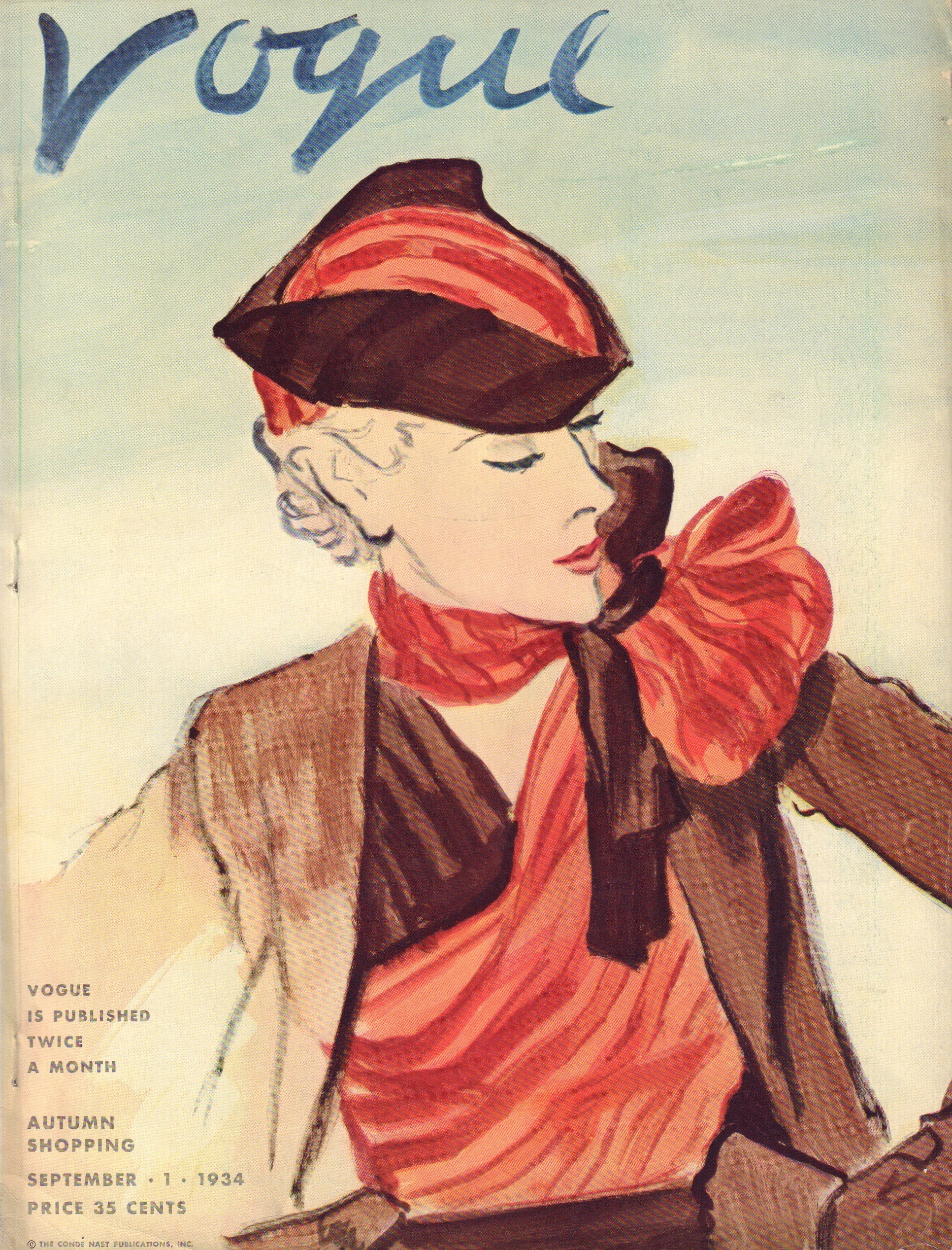 Image for Vogue September 1, 1934